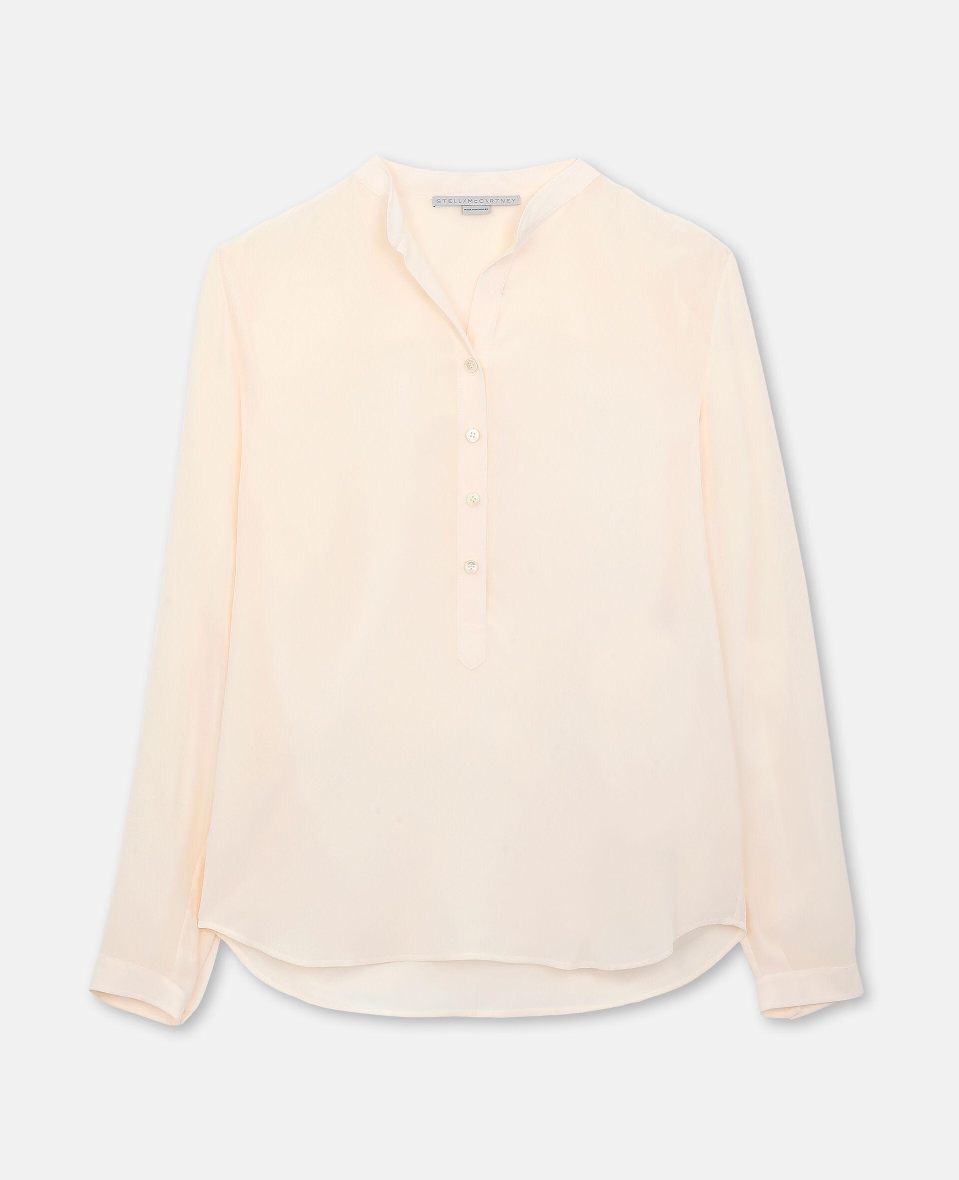 Eva 真丝衬衫-粉色-large image number 0