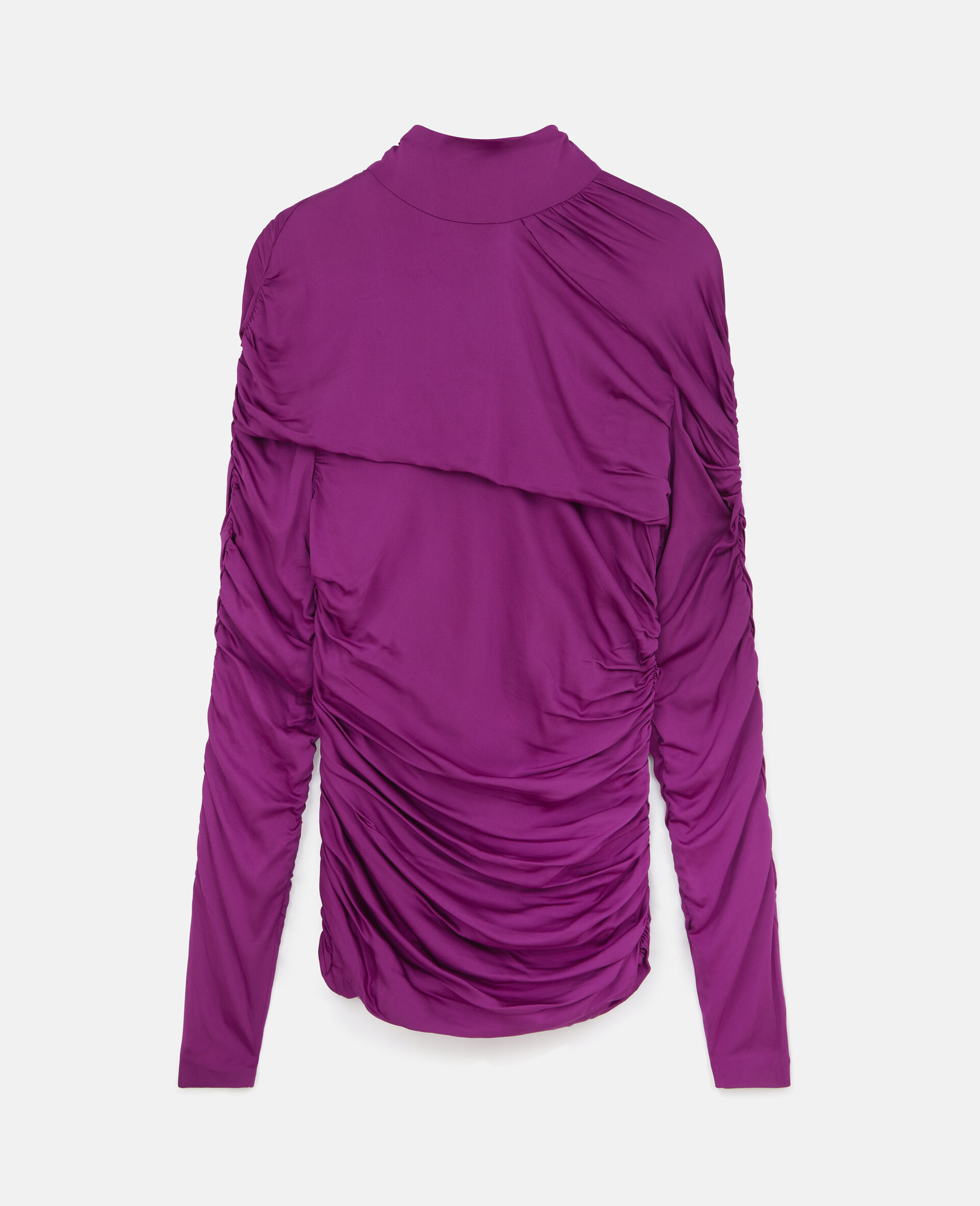 Faye Ruched Top-Purple-large image number 0