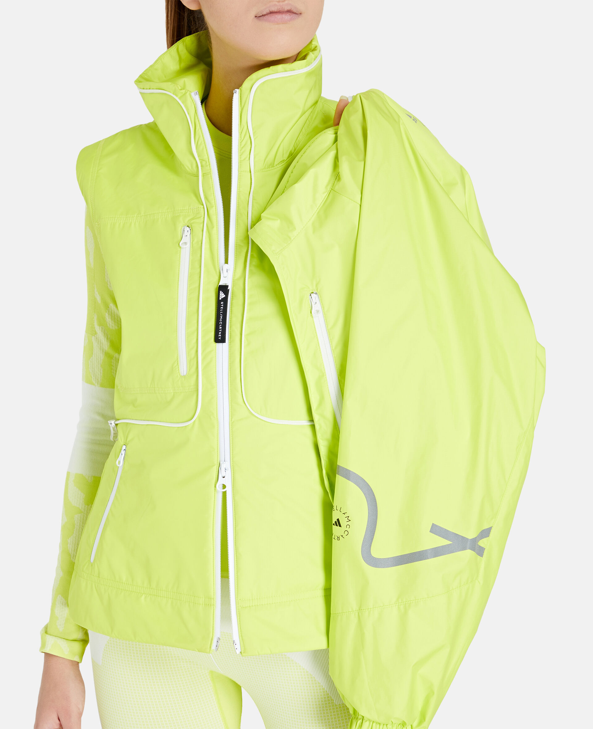 TruePace 2-in-1 Running Jacket-Yellow-large image number 3