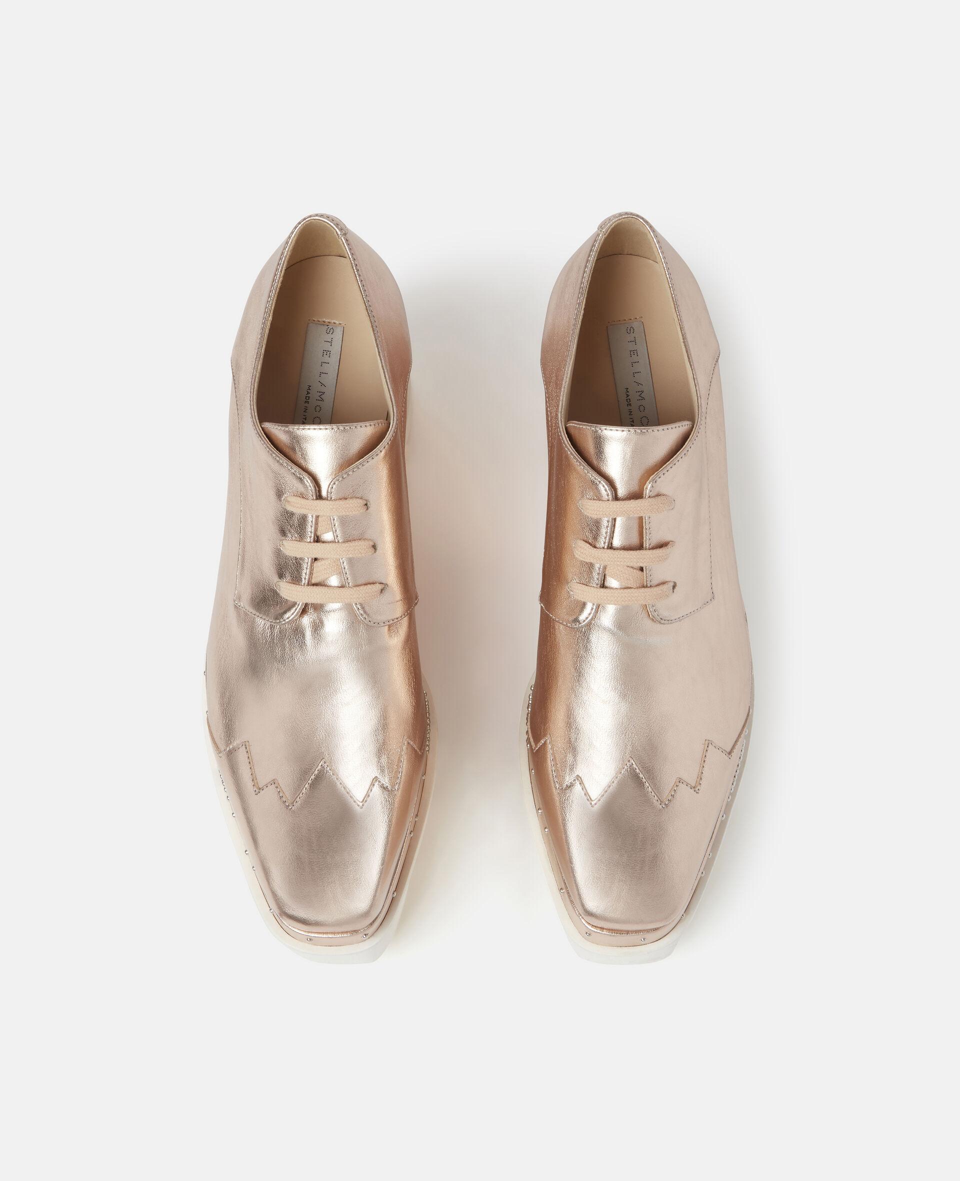Chaussures compensées pailletées Elyse-Gris-large image number 3