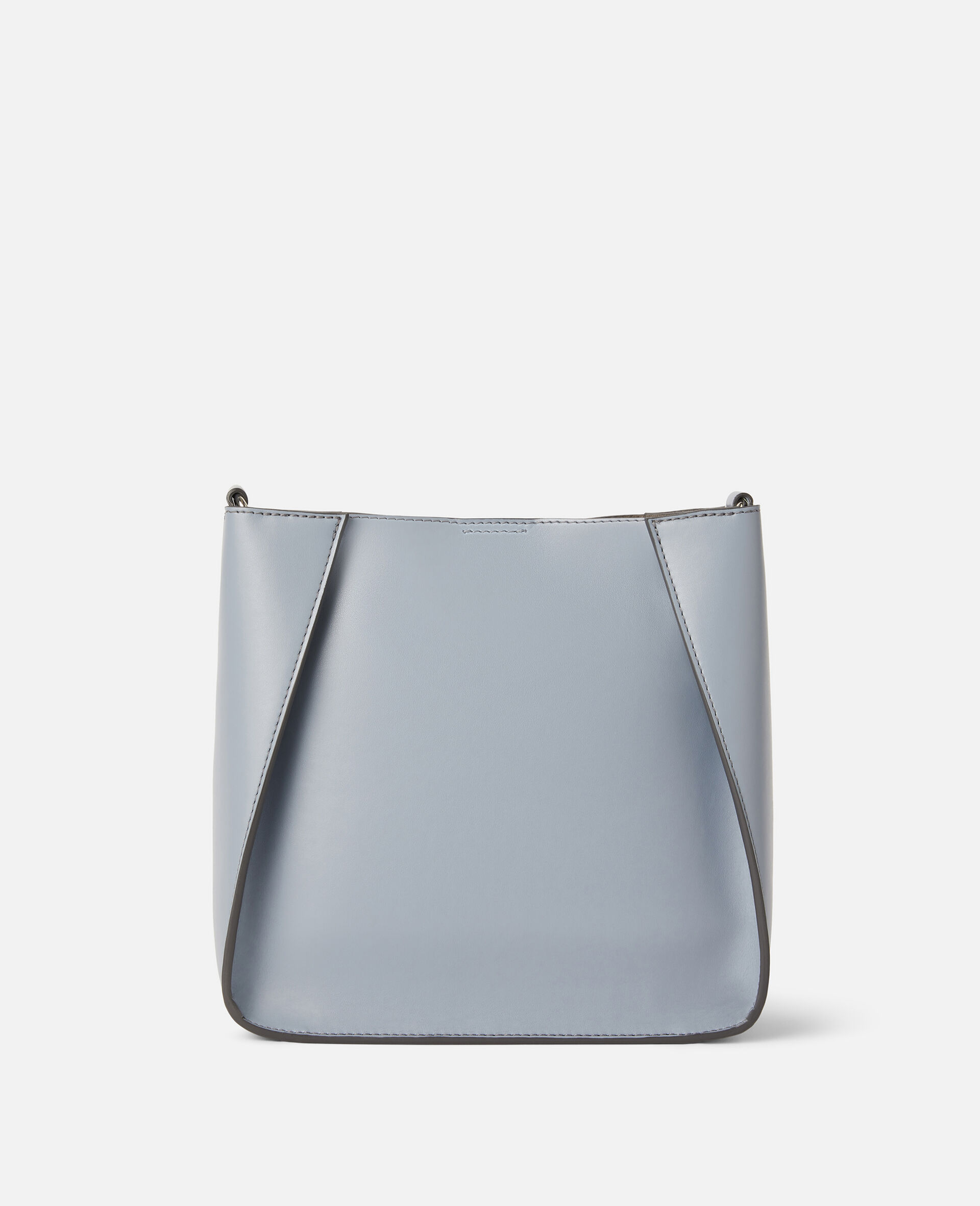 Stella Logo Shoulder Bag-Grey-large image number 2