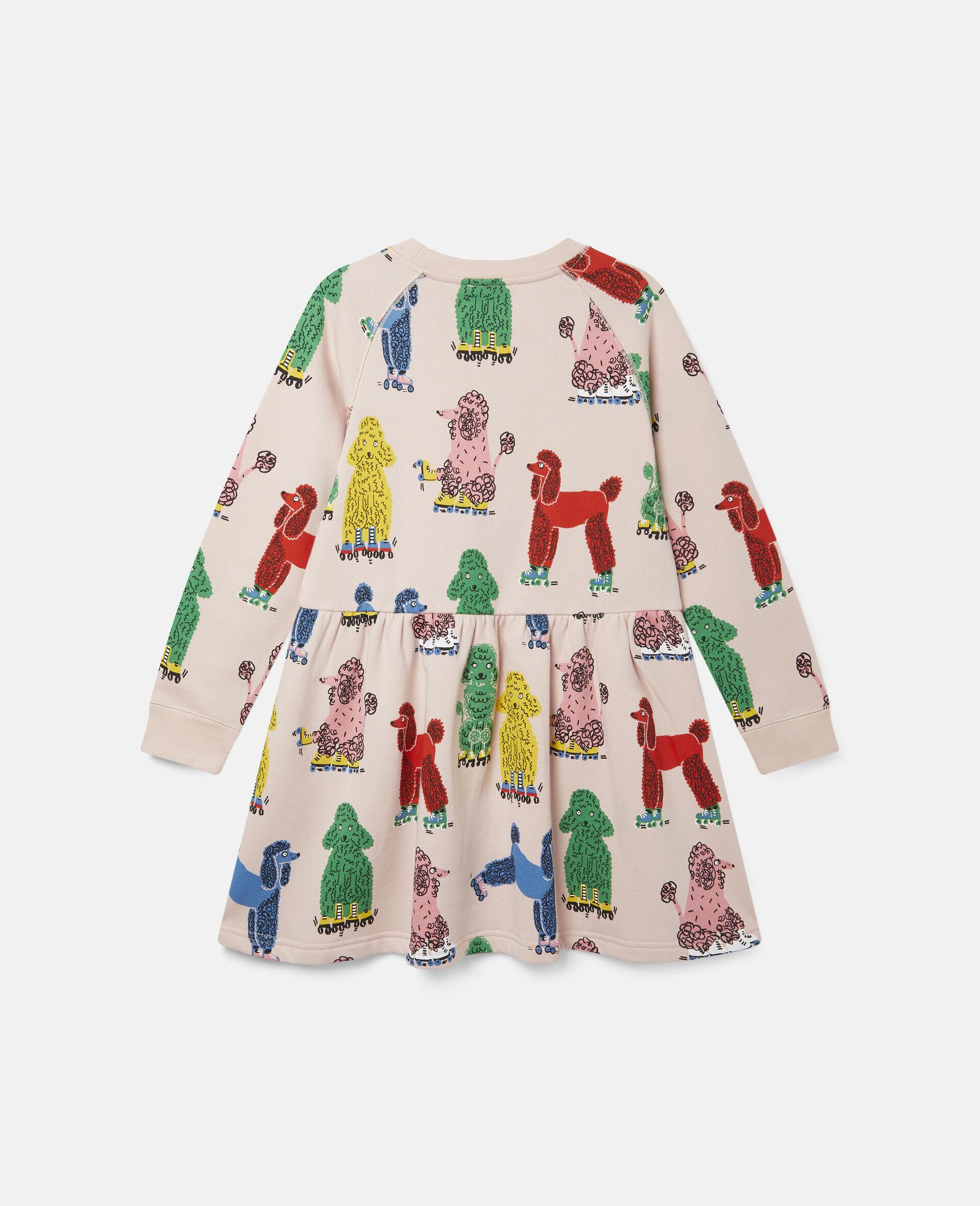 Doodle Poodles Fleece Dress -Pink-large image number 3