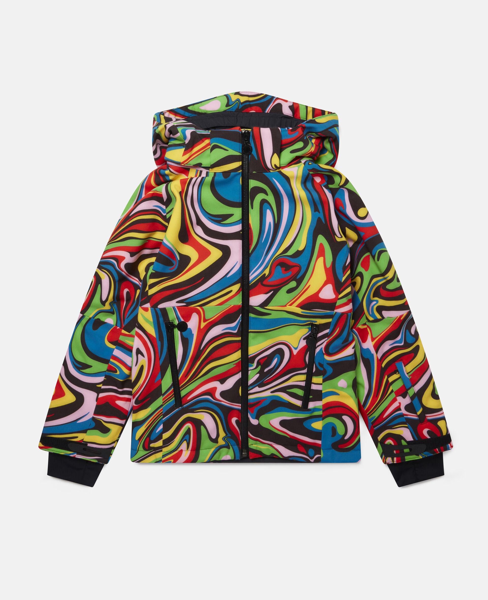 Marble Ski Jacket-Multicolour-large image number 0