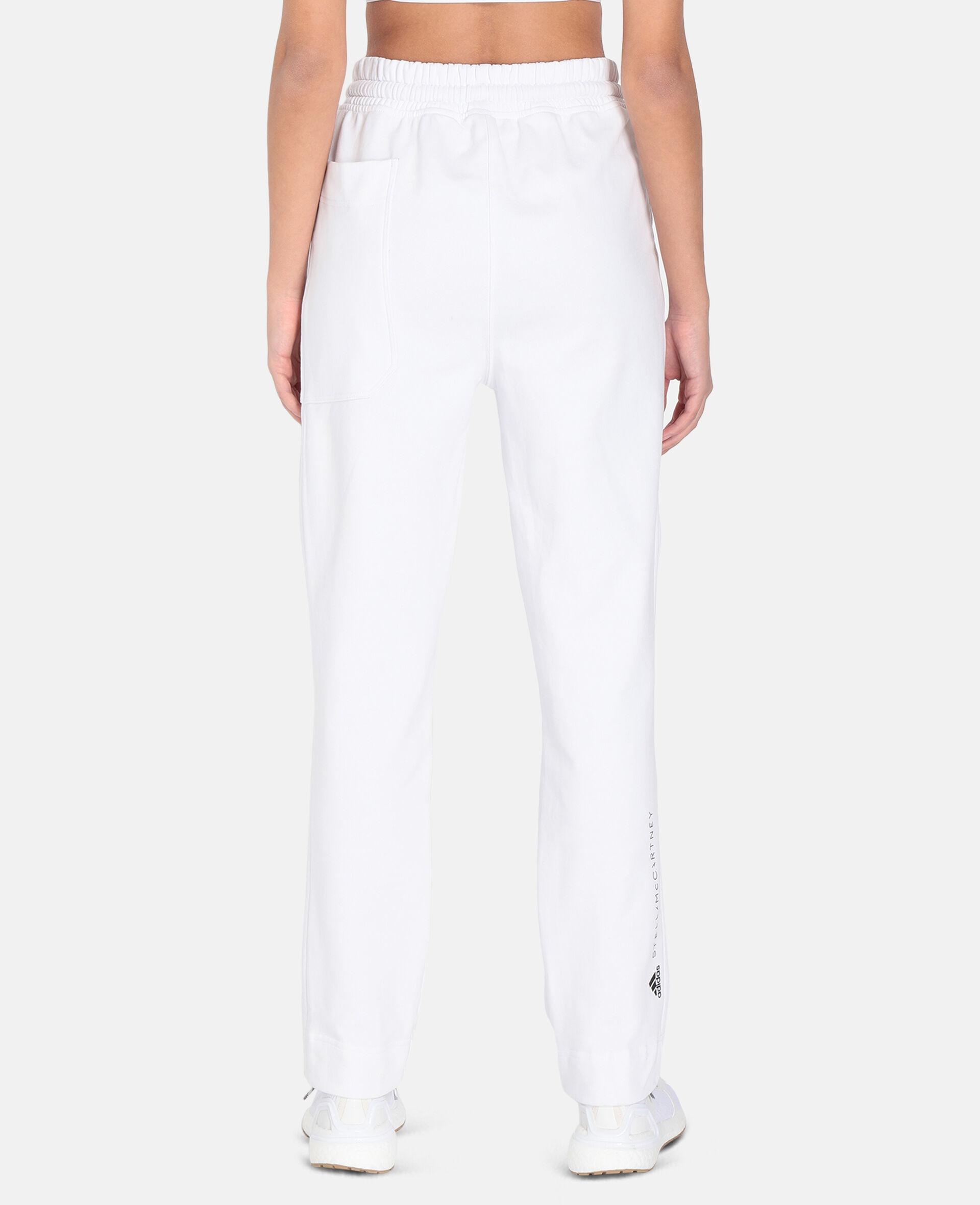 White Training Sweatpants -White-large image number 2
