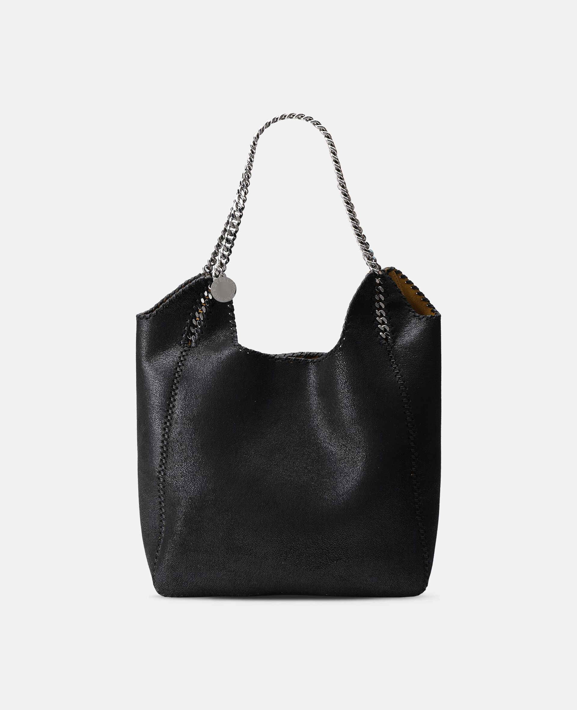 Large Falabella Tote Bag-Black-large image number 0