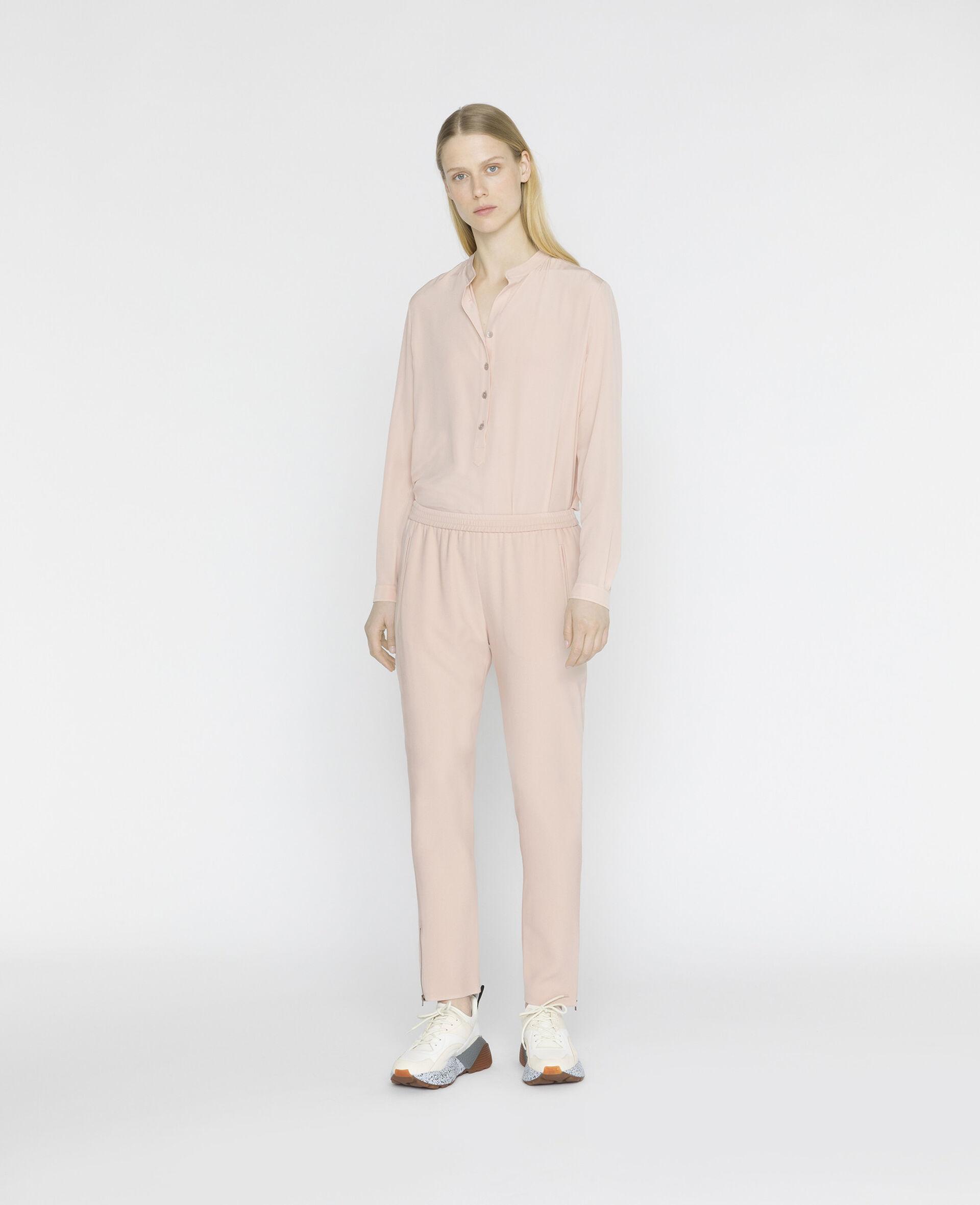 Camicia Eva in Seta-Rosa-large image number 1