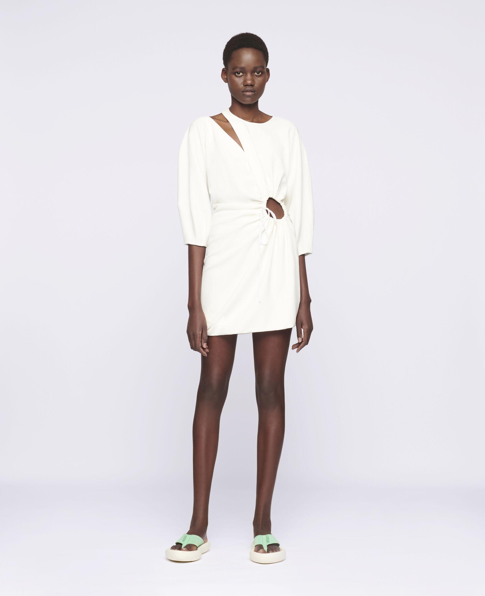 Alison Mini Dress-White-large image number 1