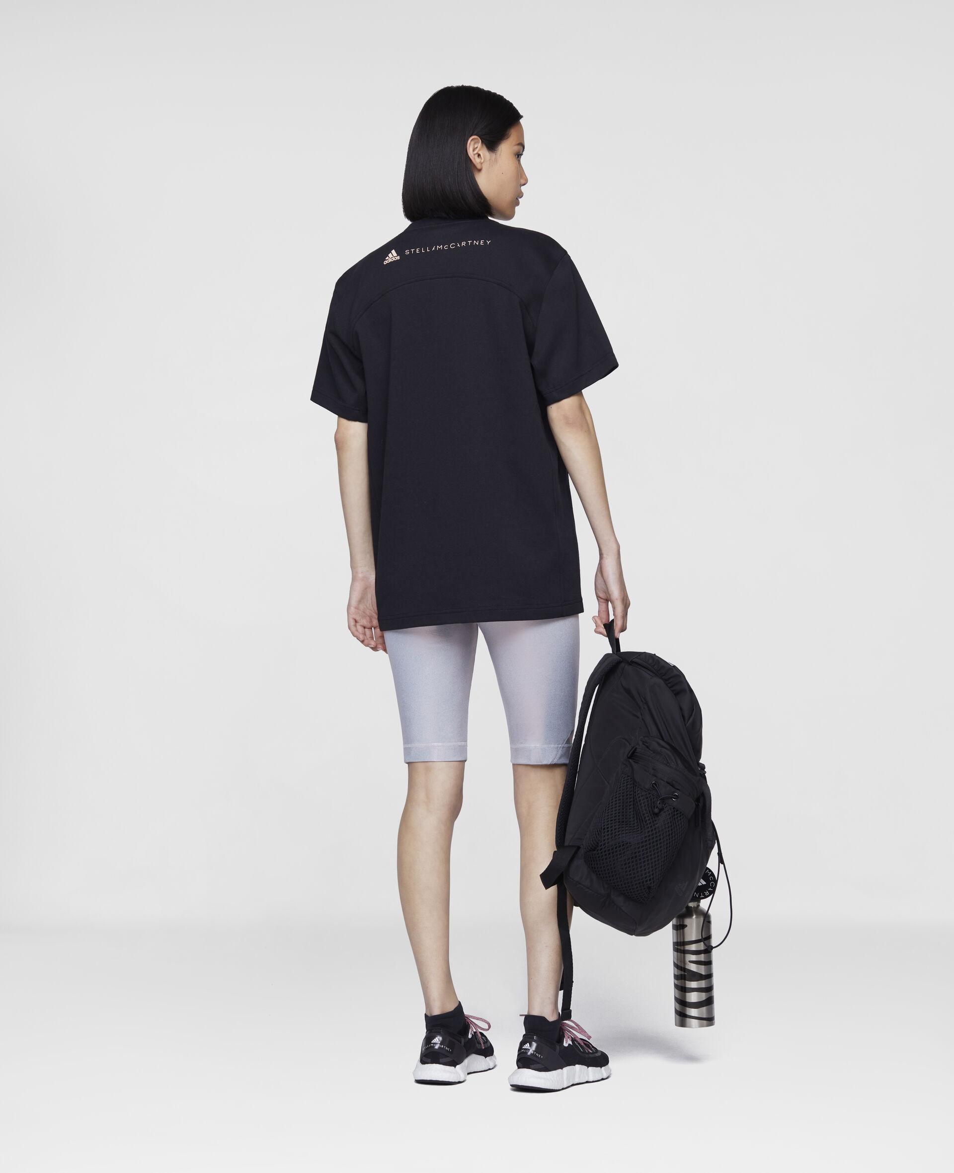 t-shirt d'entraînement noir-Noir-large image number 2