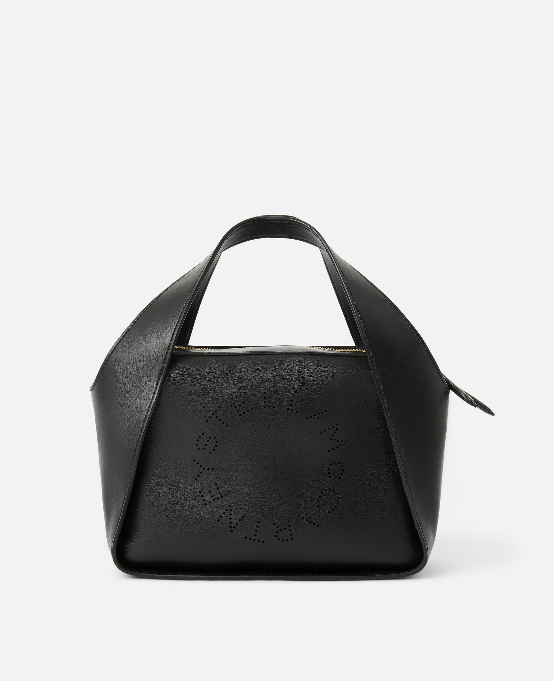 Stella Logo Crossbody Bag -Black-large image number 0