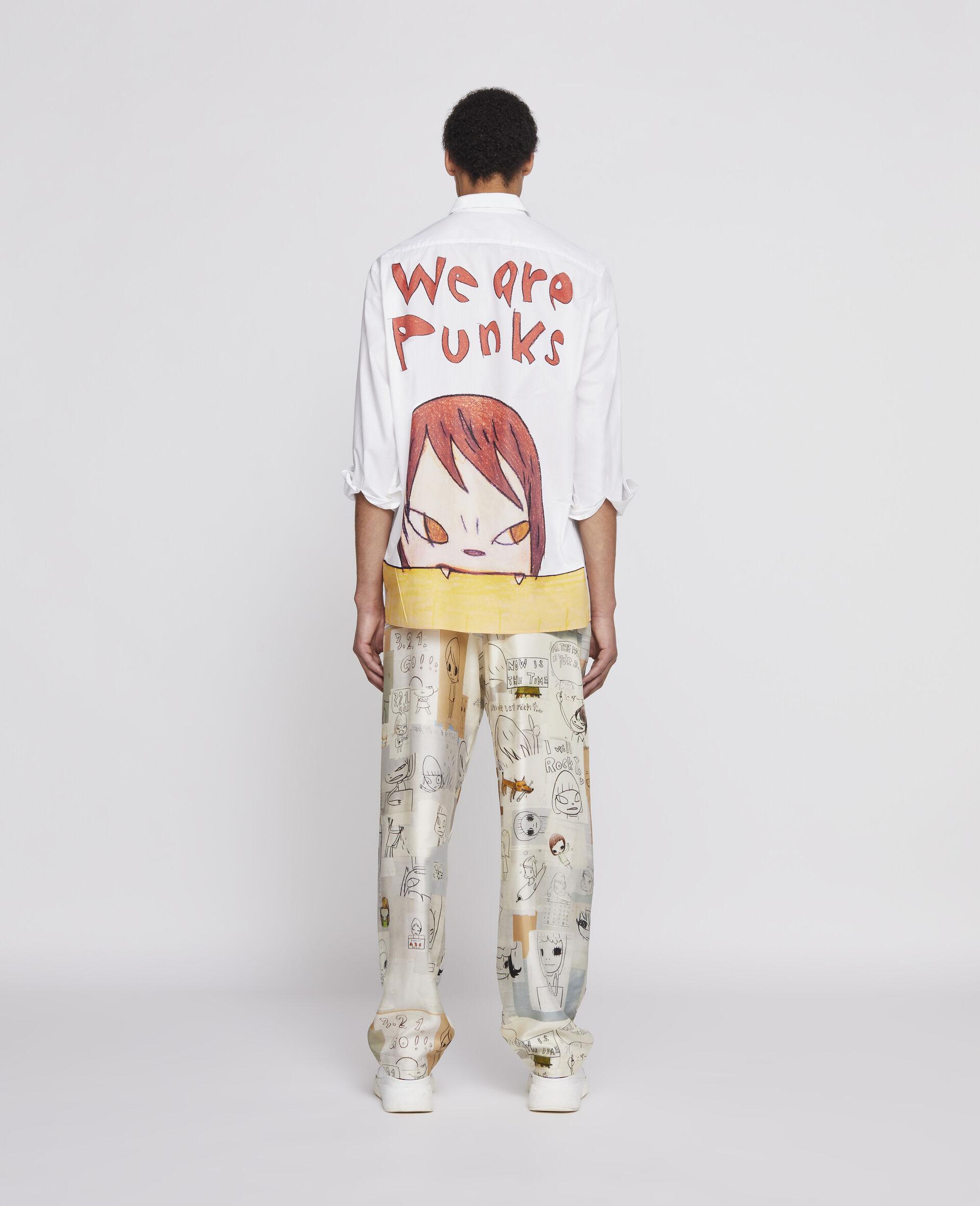 Nara Cotton Shirt-White-large image number 2