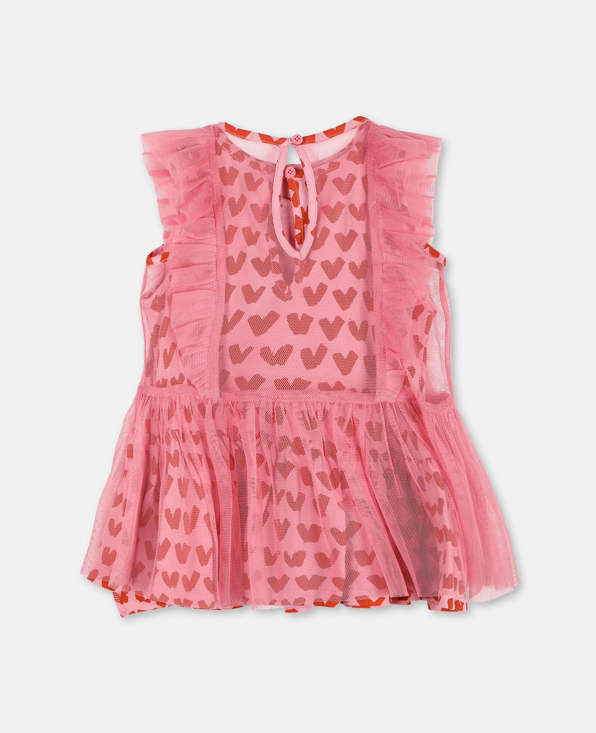 Kleid aus Tüll mit Herzen-Rose-large image number 3