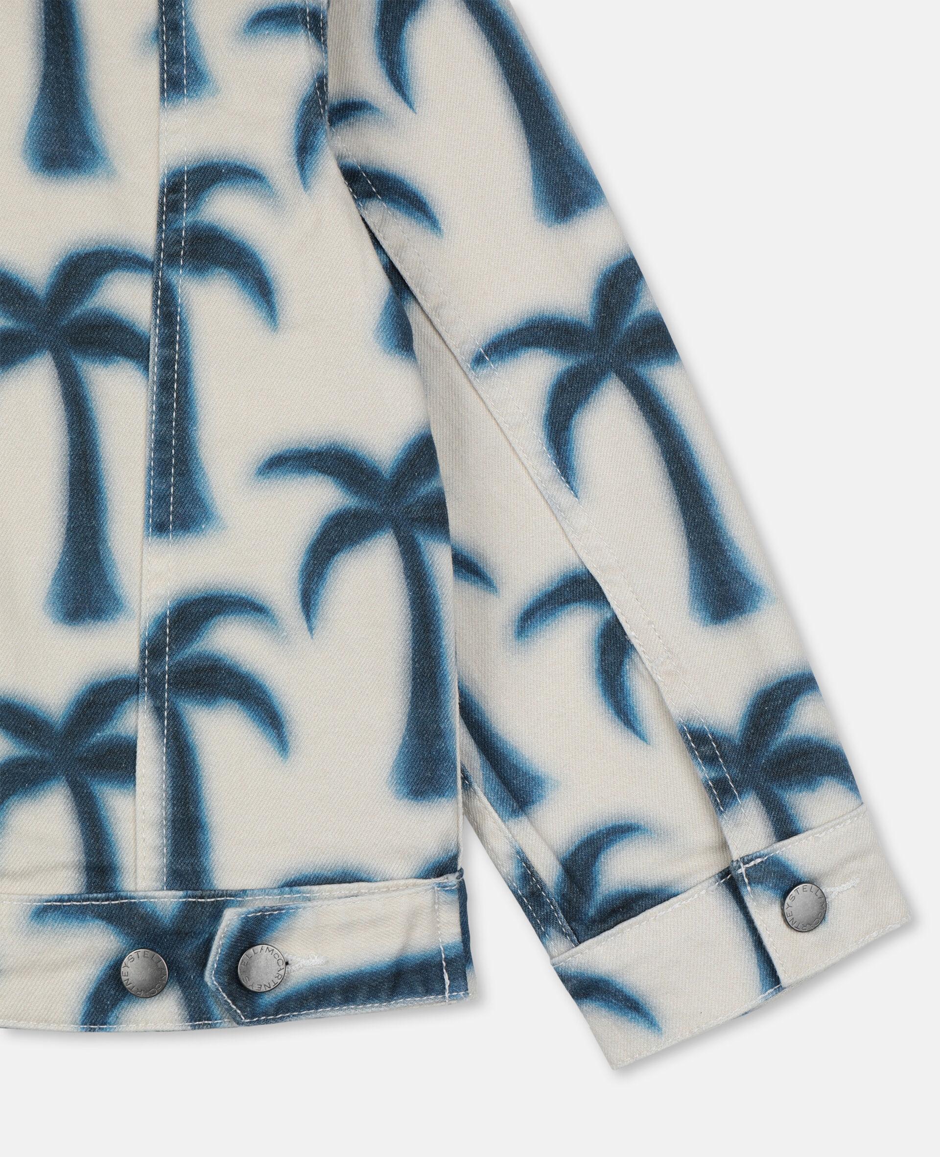 Palms Denim Jacket -Blue-large image number 2