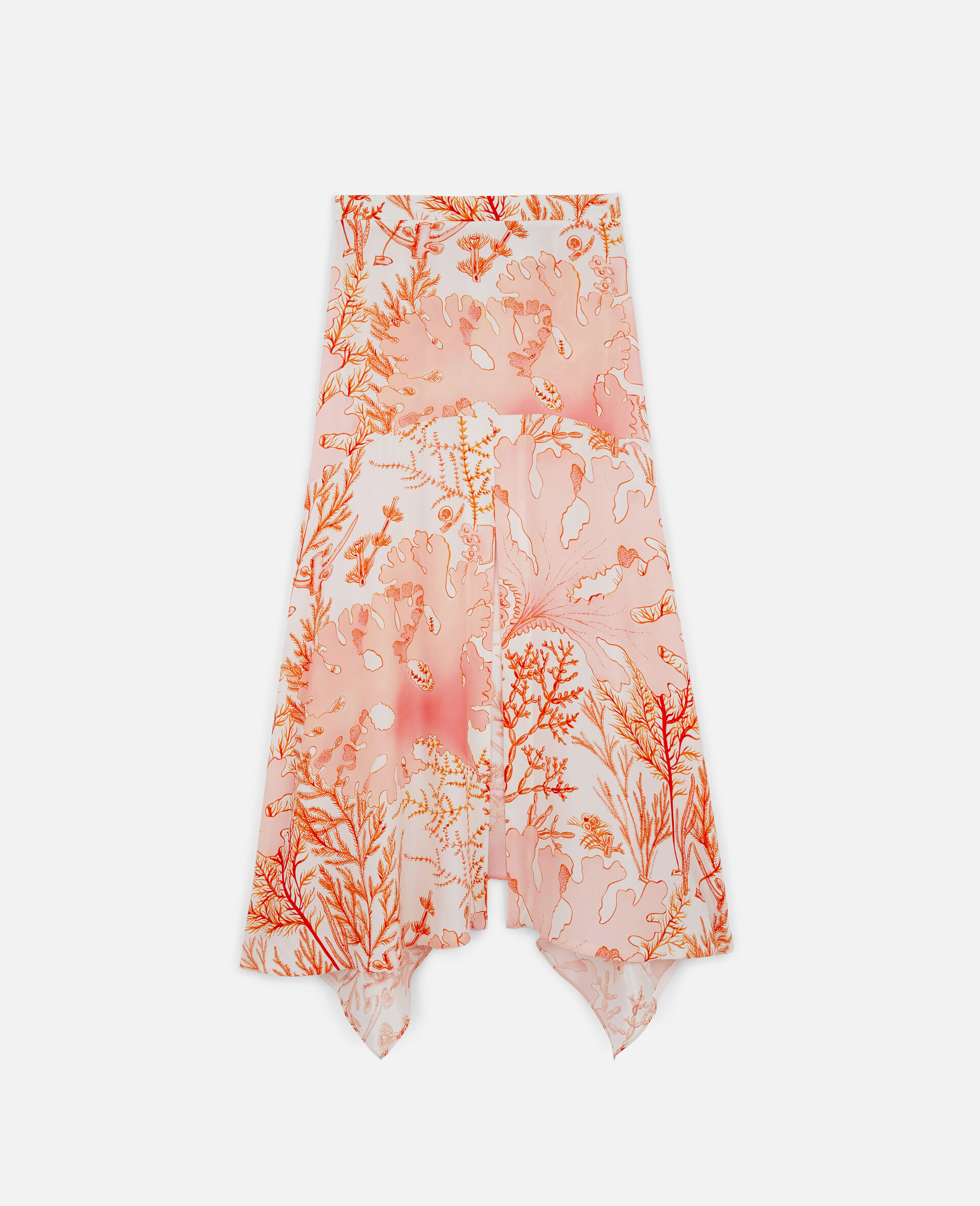Ariah Silk Skirt-Multicoloured-large image number 0