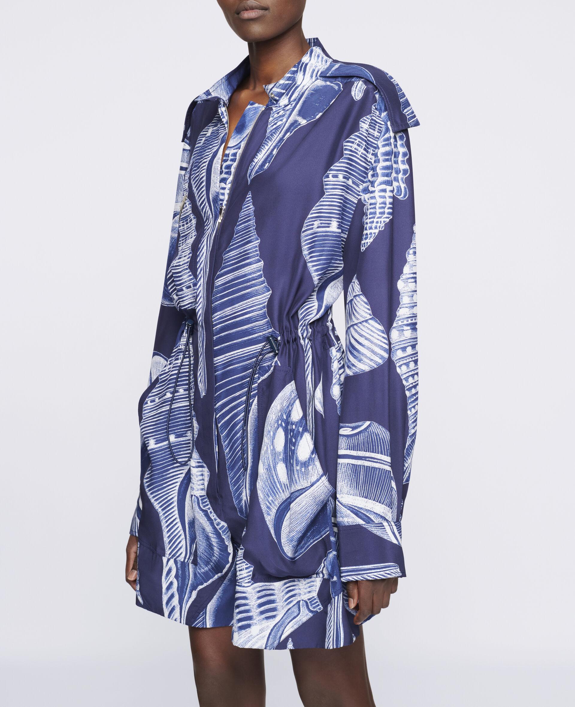 Erin Silk Jumpsuit -Blue-large image number 3
