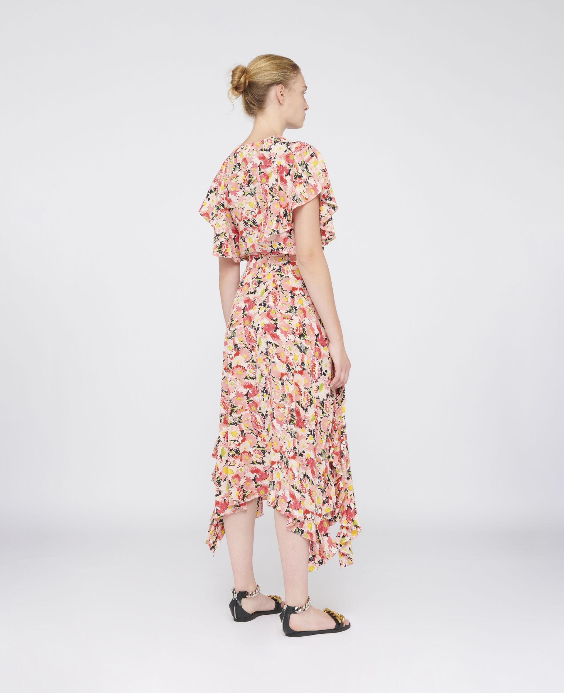 Ashlyn Silk Skirt-Multicoloured-large image number 2