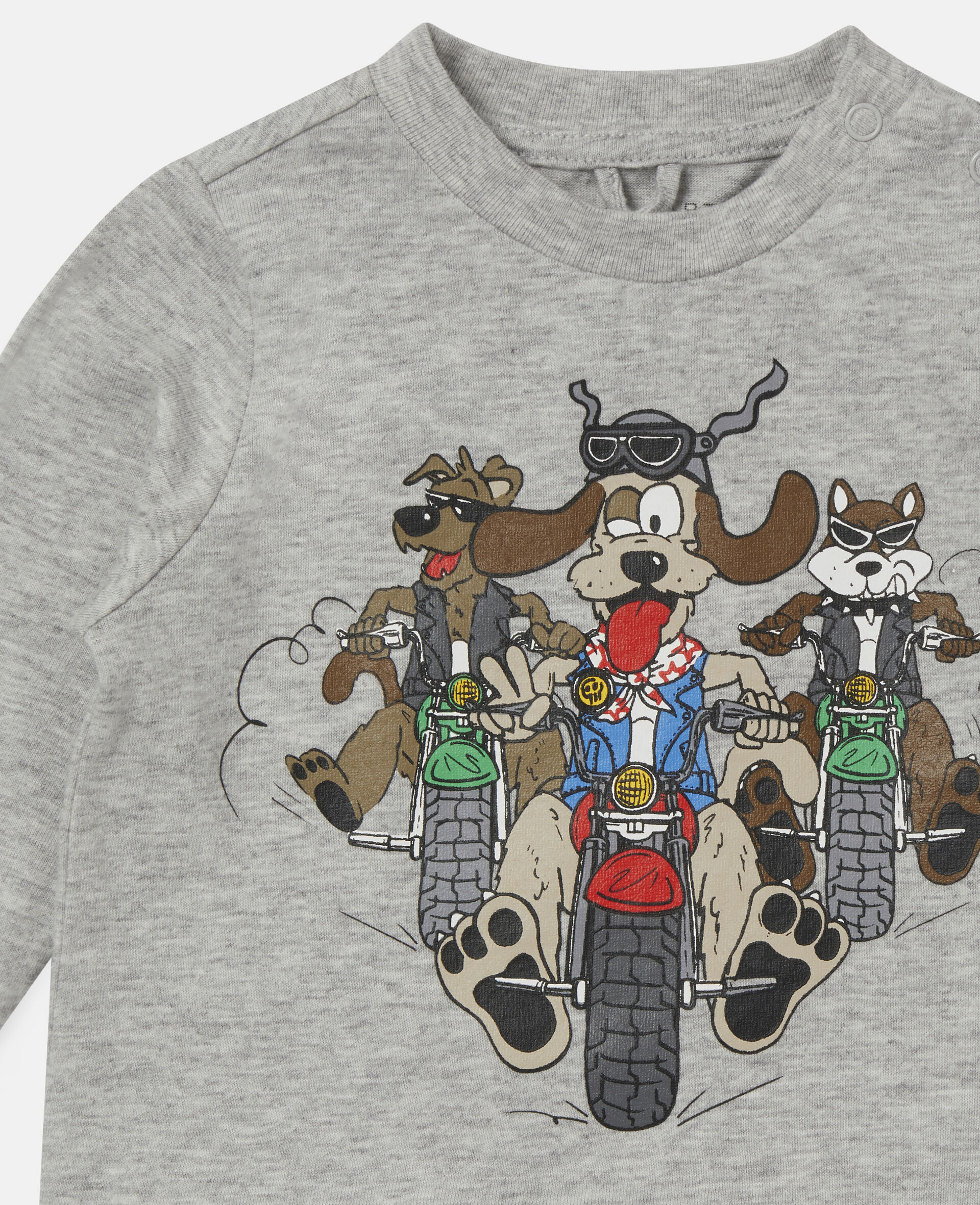 Doggie Riders Top-Grey-large image number 1