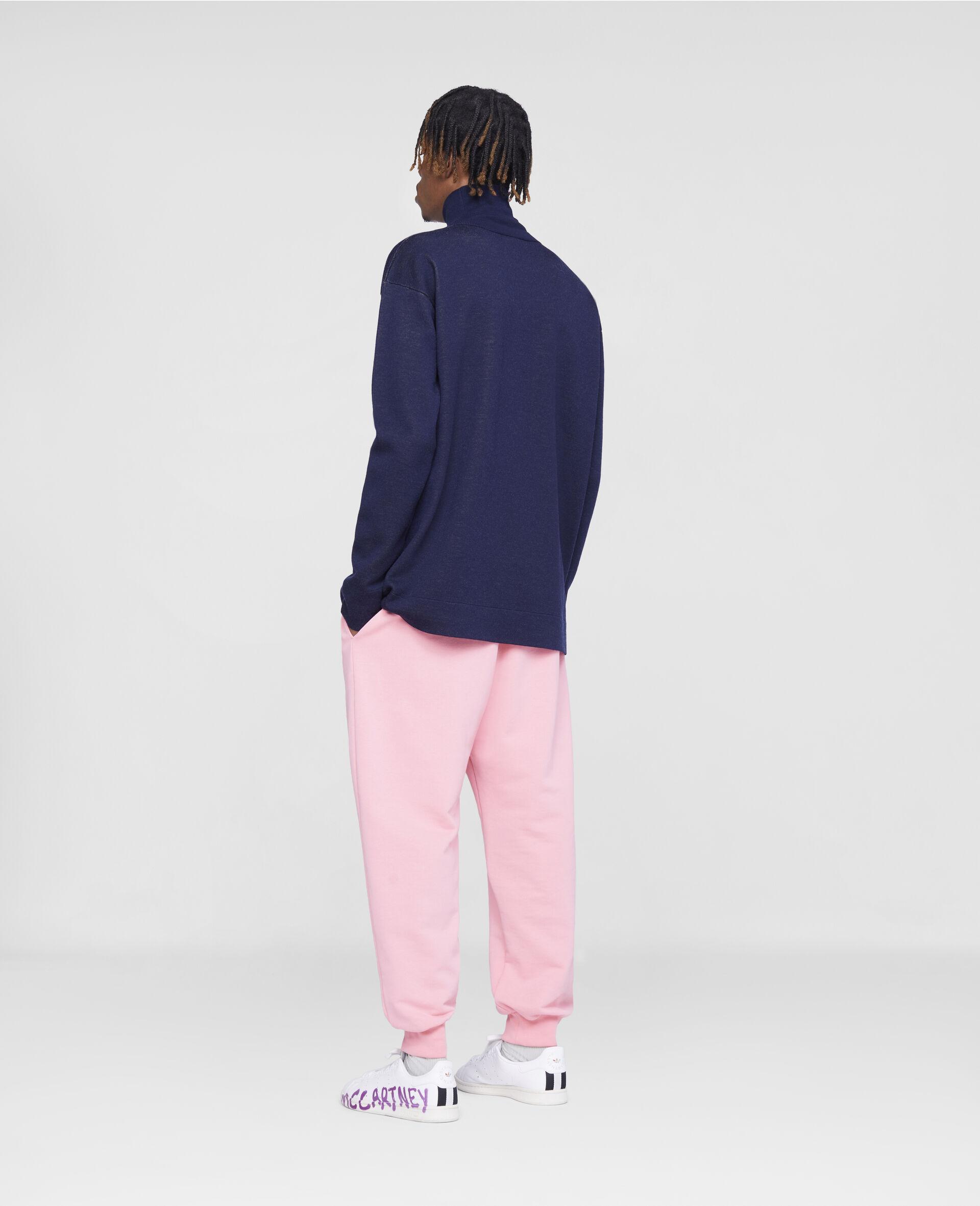 Stella Logo Tape Sweatpants-Pink-large image number 2