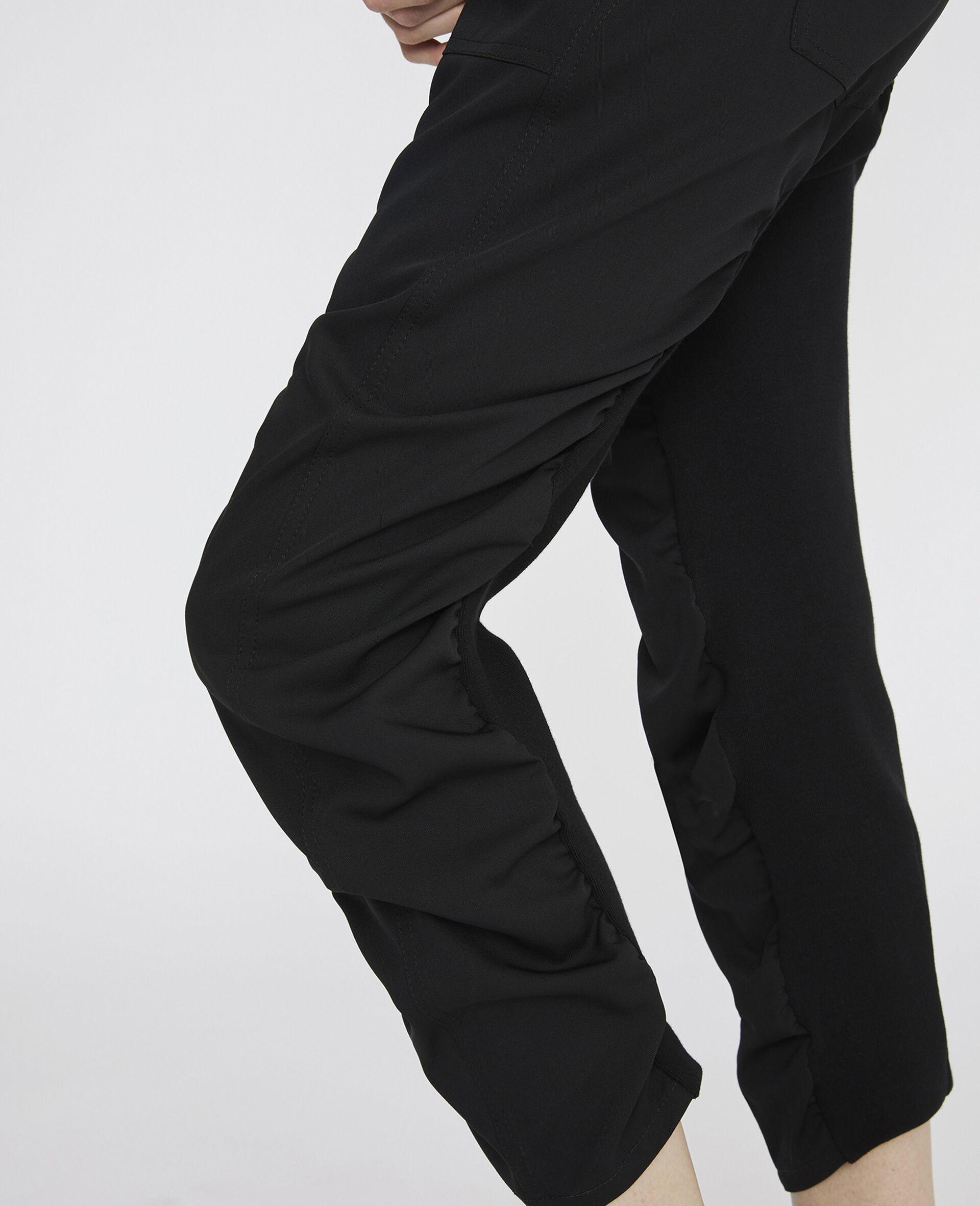 Pantaloni Tina Neri-Nero-large image number 3