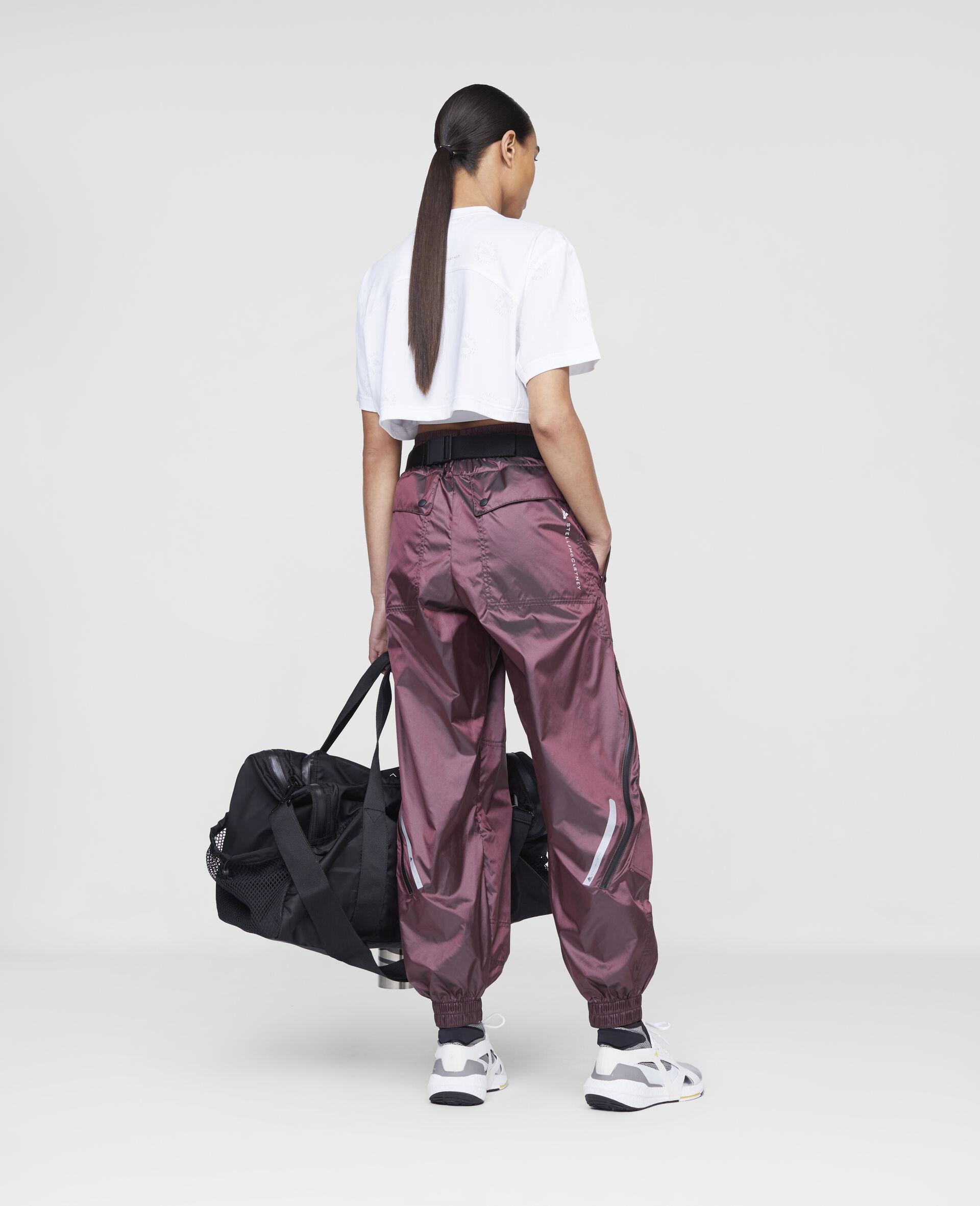Pantalon d'entraînement bordeaux-Rouge-large image number 2