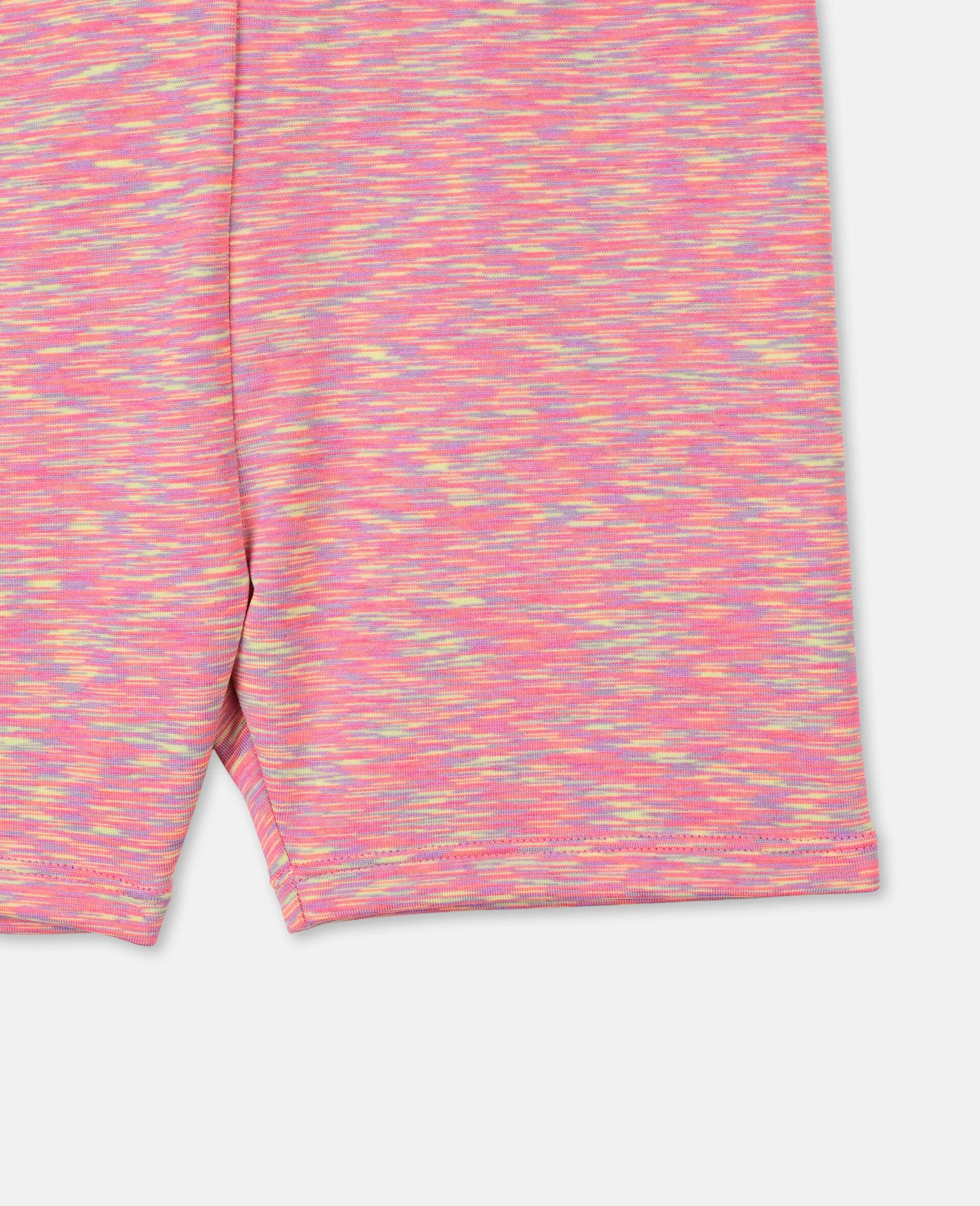 Sportliche, kurze Space-Dye-Leggings -Bunt-large image number 1