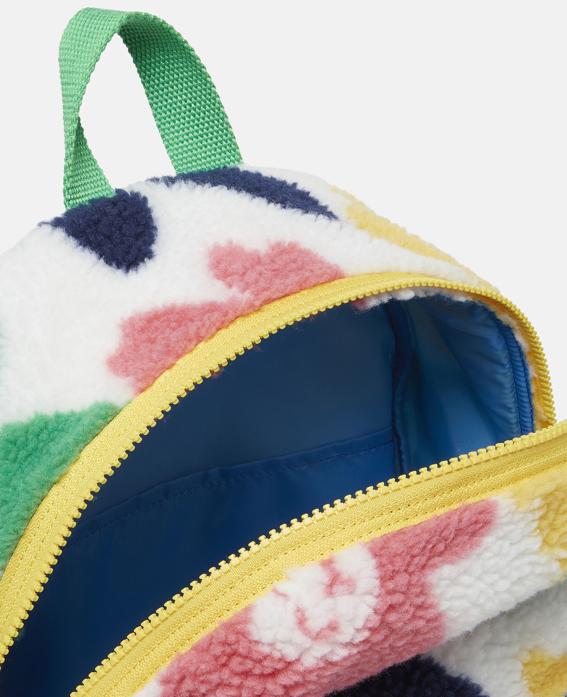 Happy Flowers Teddy Backpack-Multicolour-large image number 2