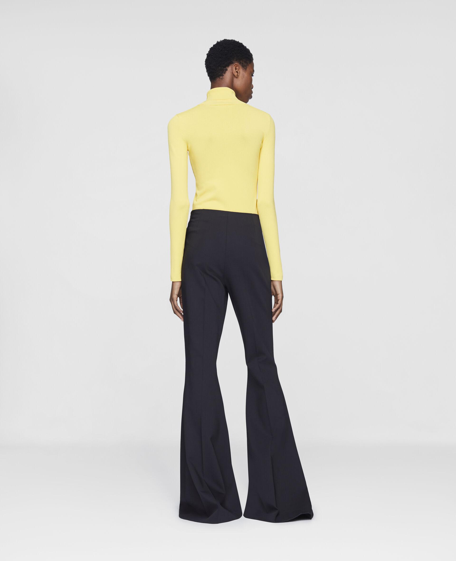 Mona Flared Trousers-Black-large image number 2