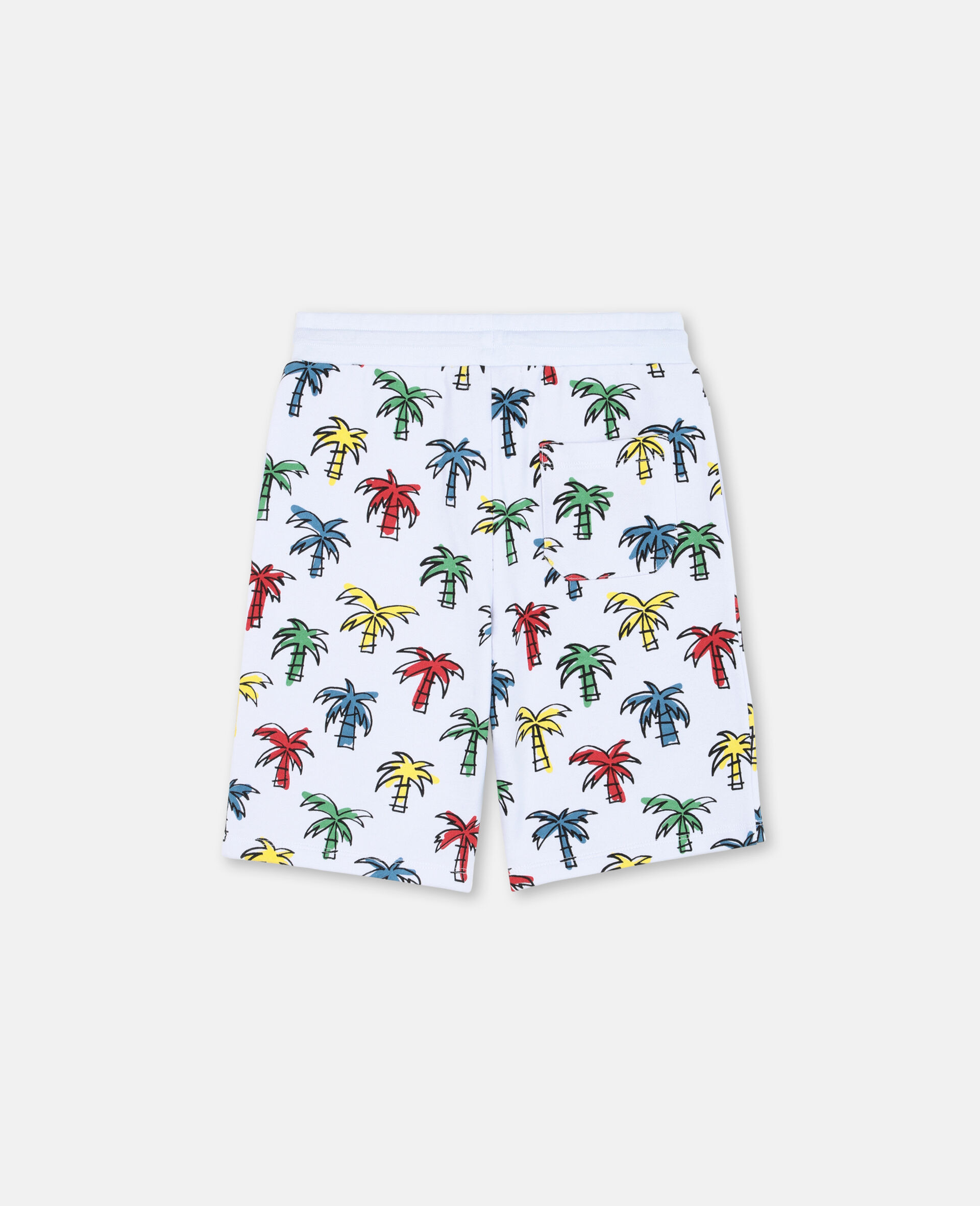 Doodly Palms Shorts -Multicolour-large image number 3