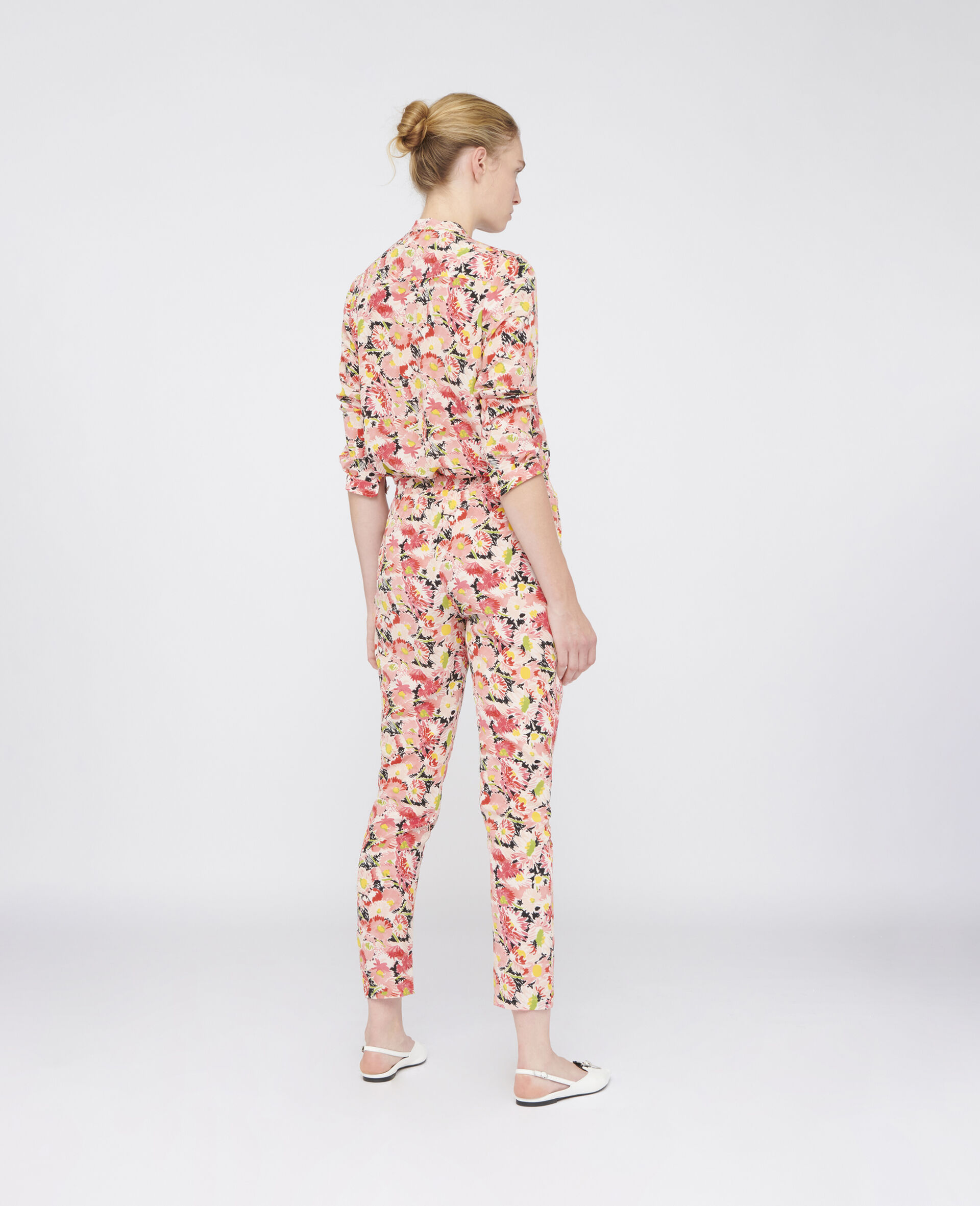 Christine Silk Trousers-Multicolour-large image number 2