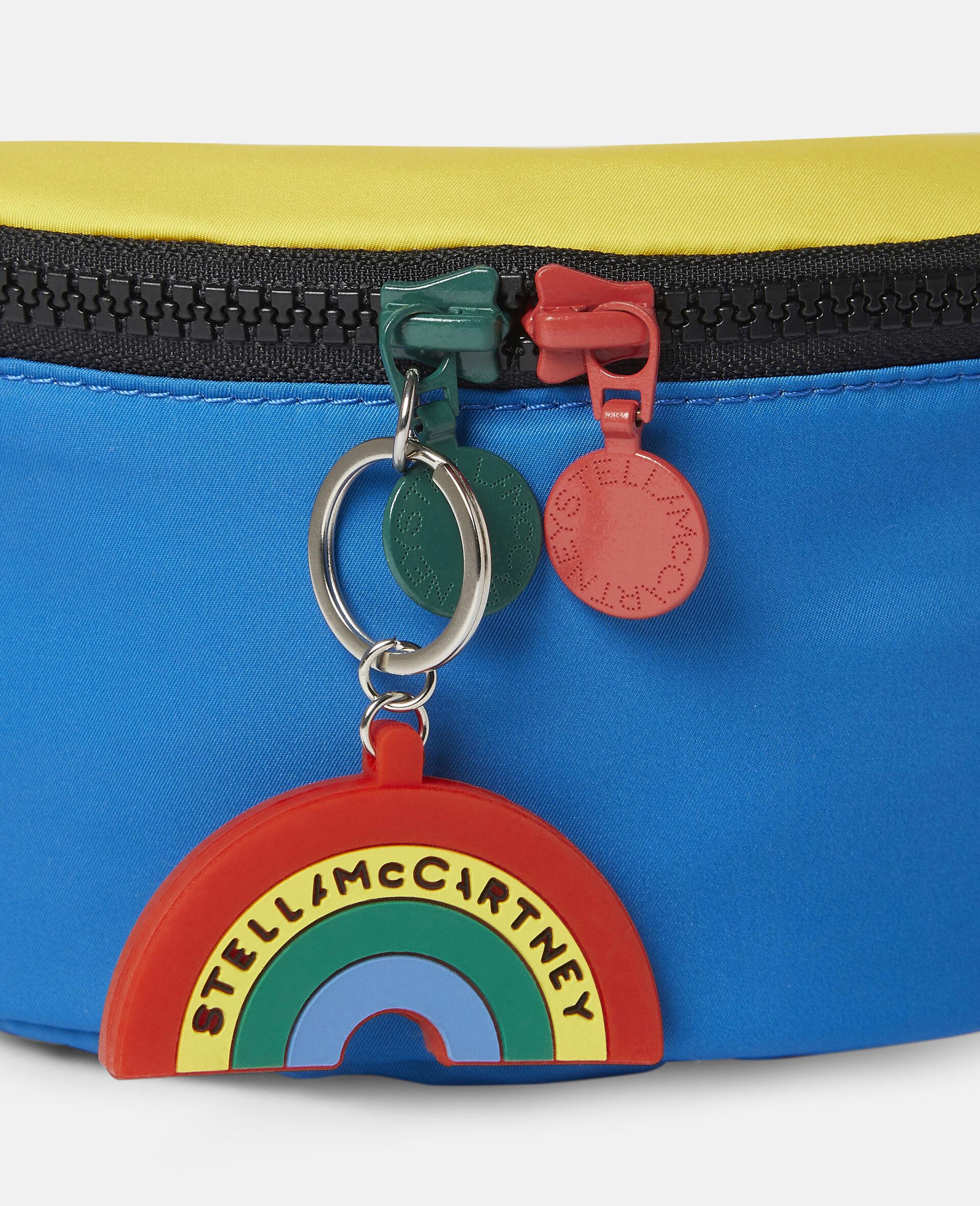 Colourblock Logo Bum Bag-Multicolour-large image number 2
