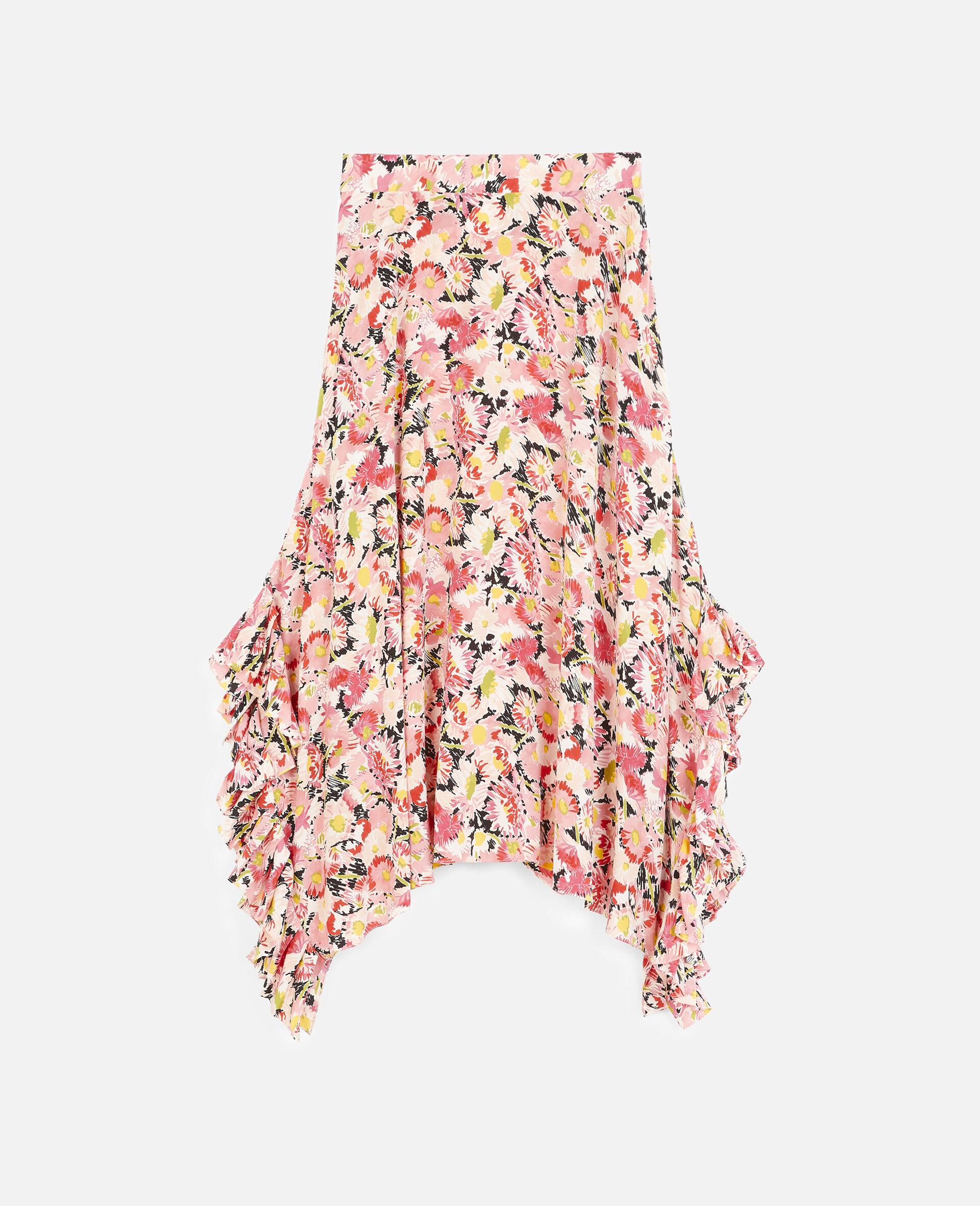 Ashlyn Silk Skirt-Multicolour-large image number 0