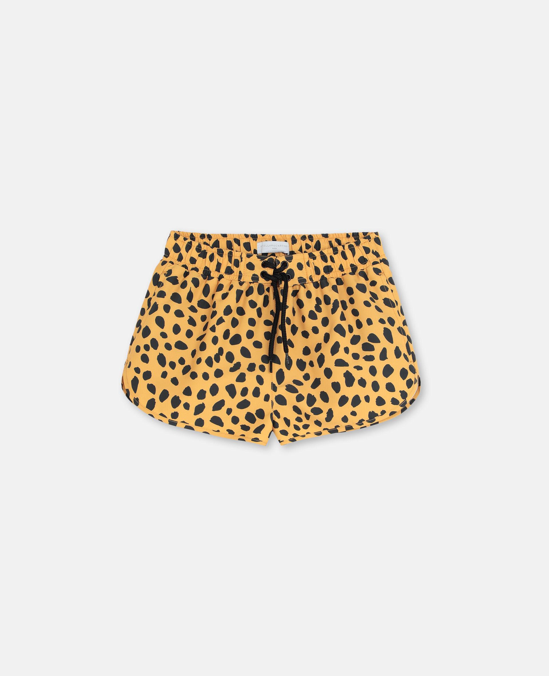Cheetah Dots Swim Shorts-Multicolour-large image number 0