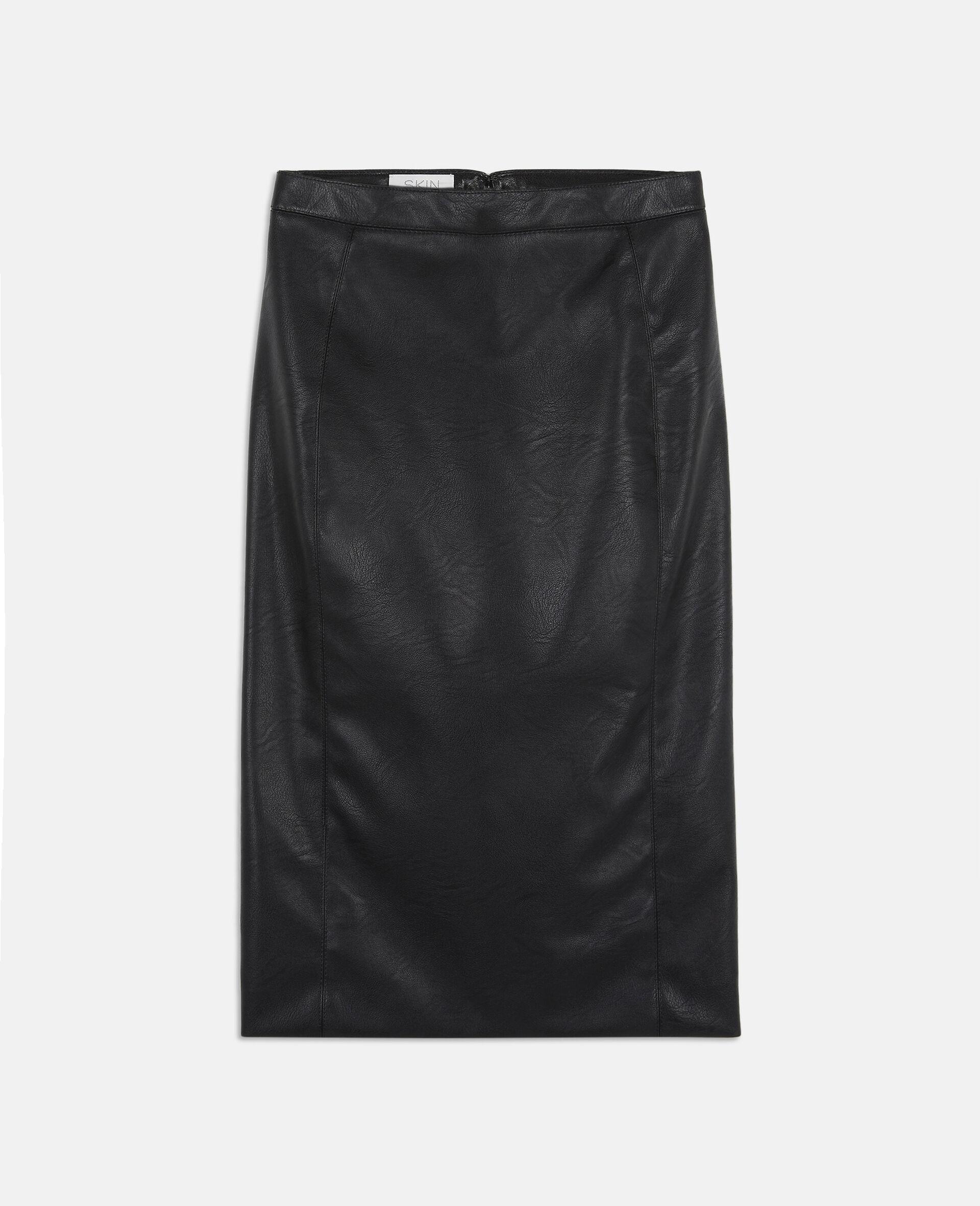 Mansela 黑色半身裙-黑色-large image number 0