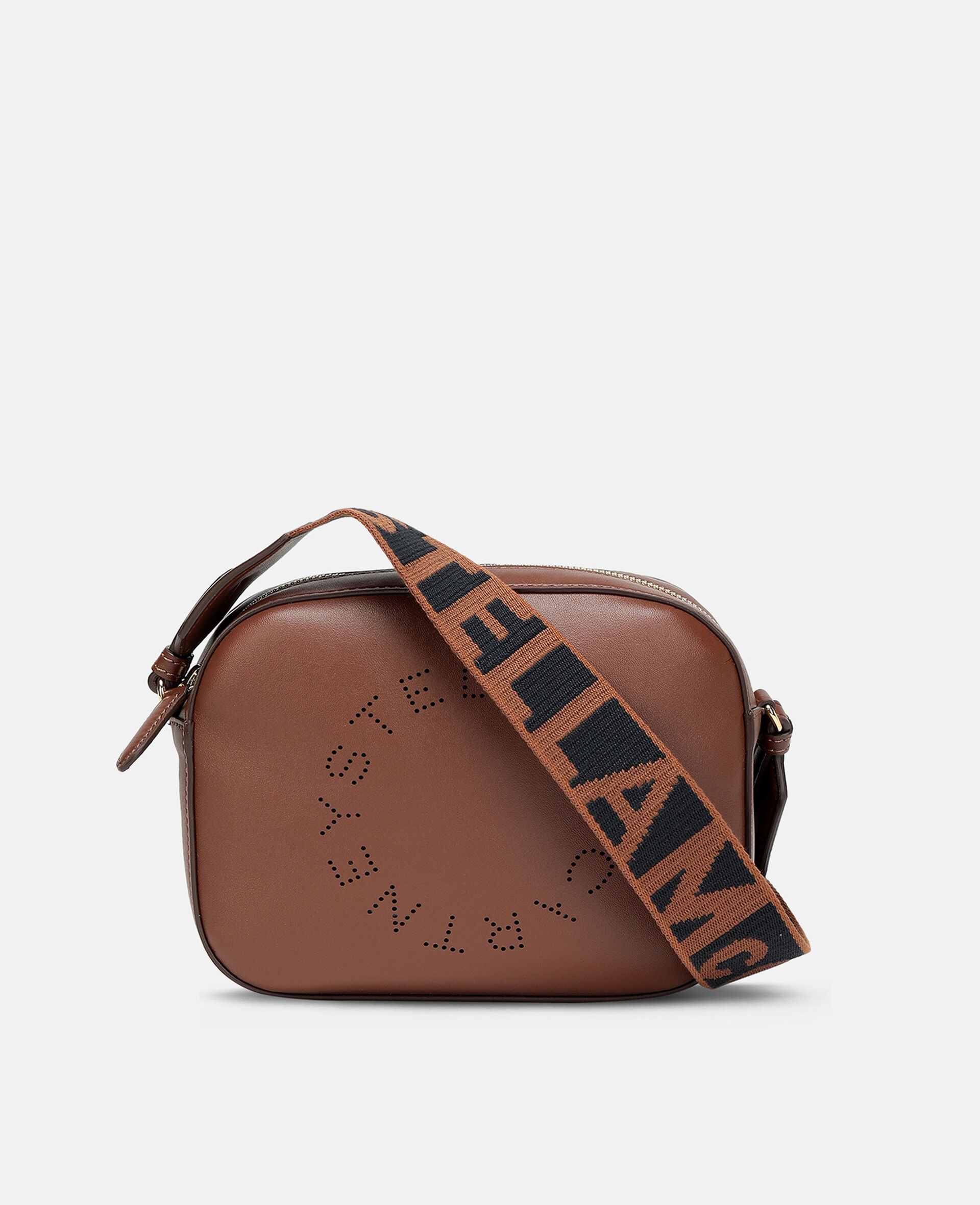 Stella Logo Mini Bag-Brown-large image number 0