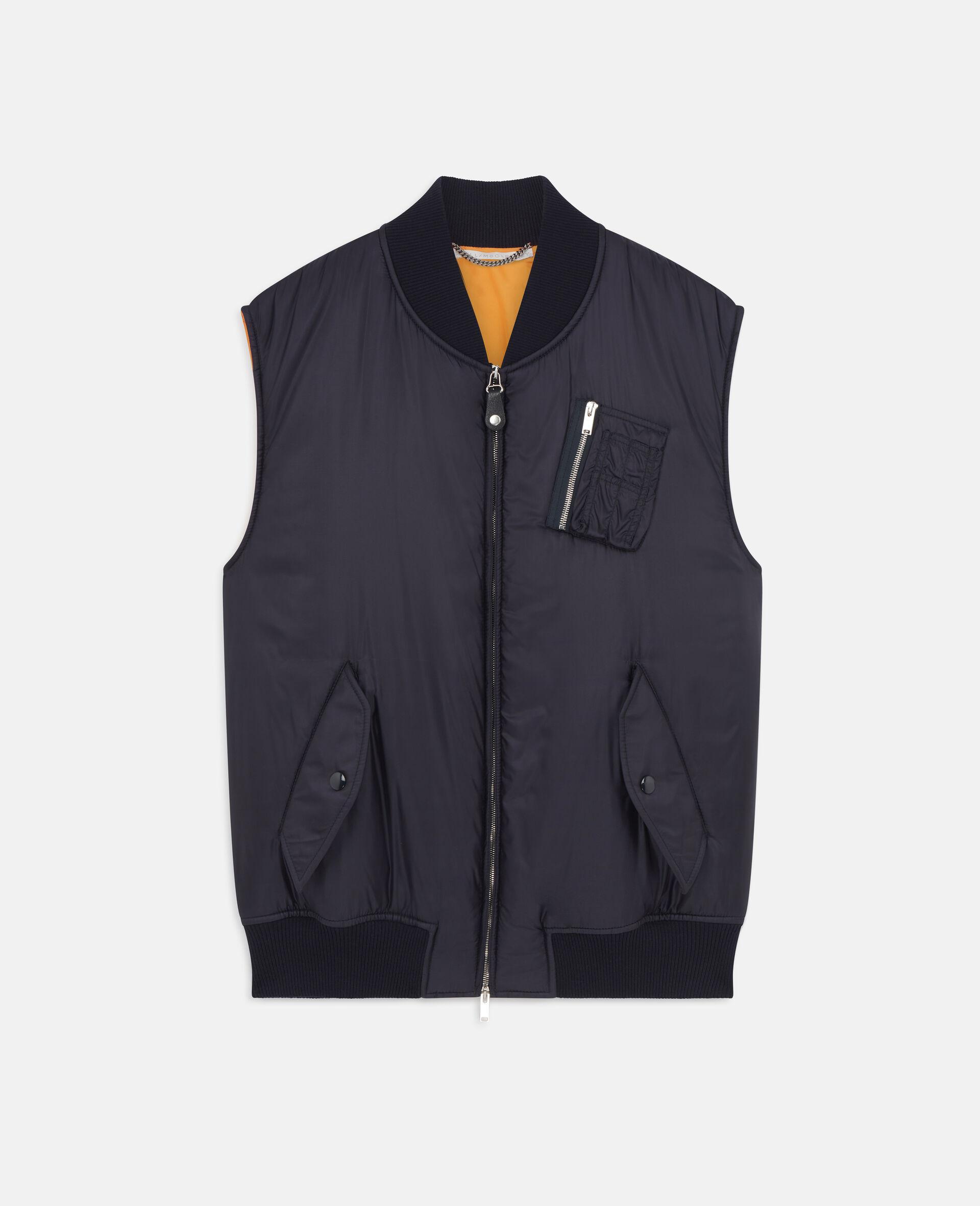 Madora Sleeveless Jacket-Blue-large image number 0