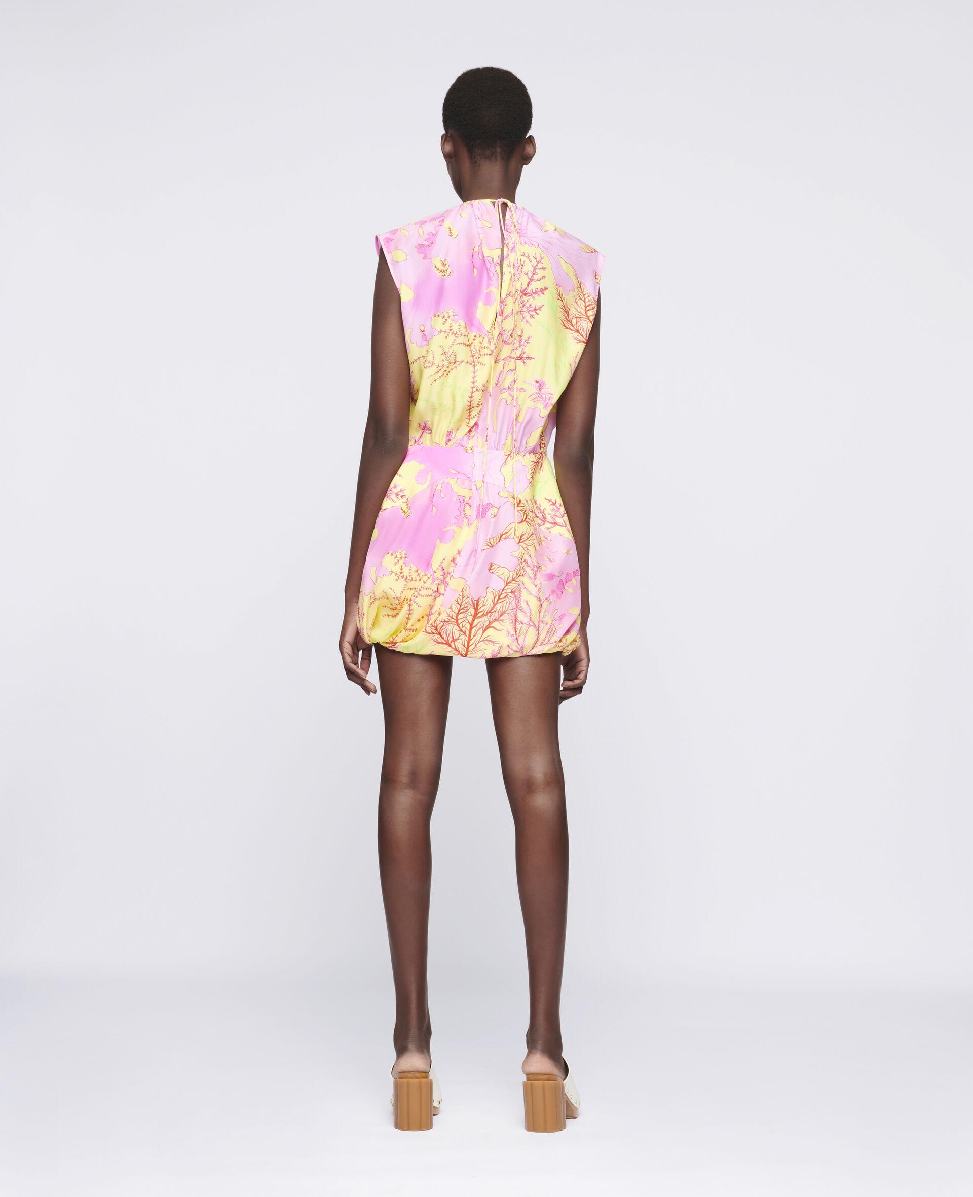 Bethany Silk Dress-Multicolour-large image number 2