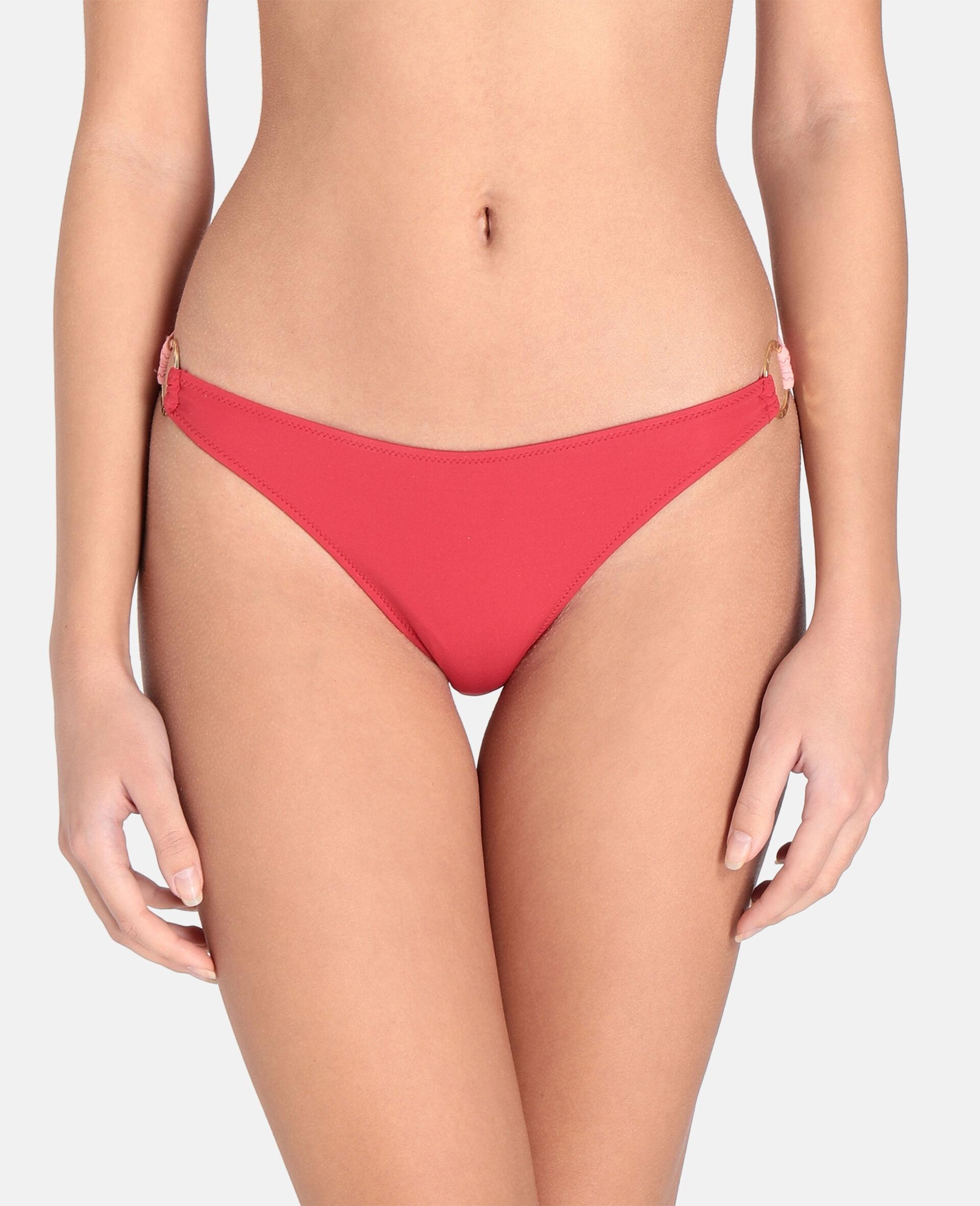 Bas de bikini mini à anneau doré-Rose-large image number 3