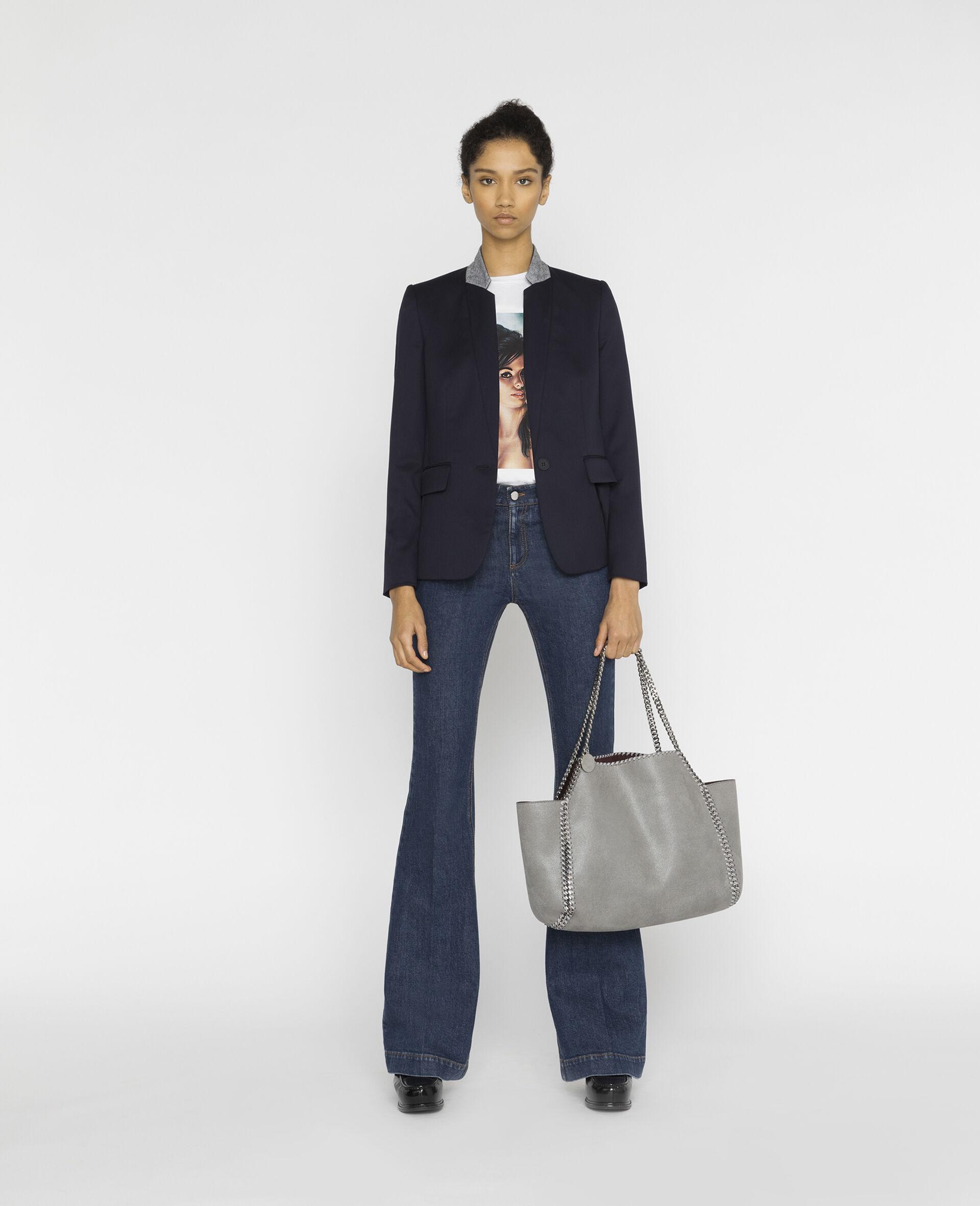Fleur Jacket-Blue-large image number 1