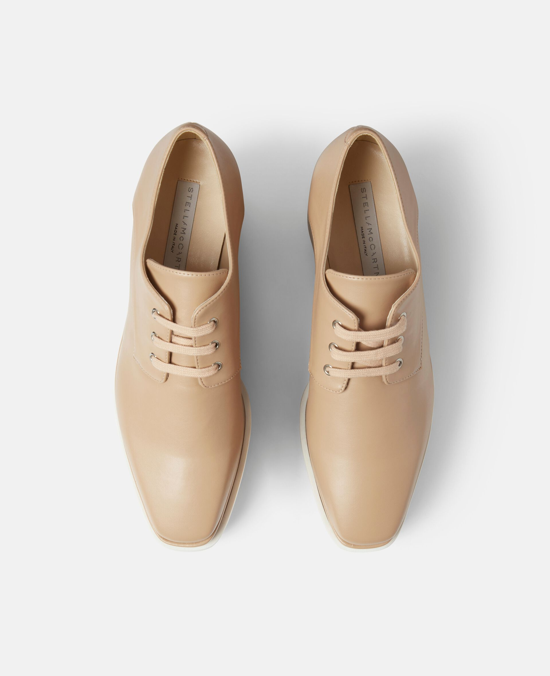 Chaussures compensées Elyse-Beige-large image number 3