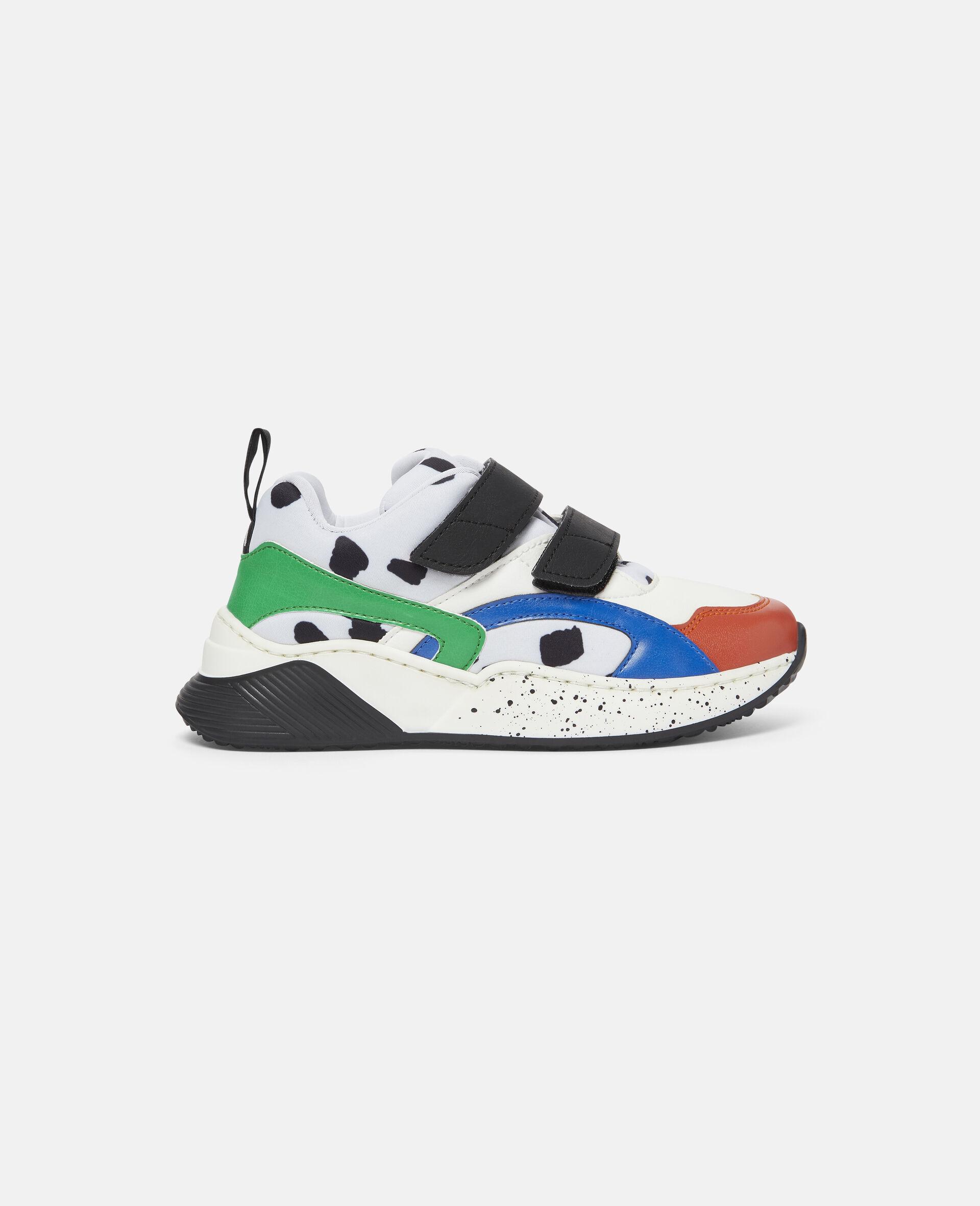 Baskets à taches dalmatien-Blanc-large image number 0