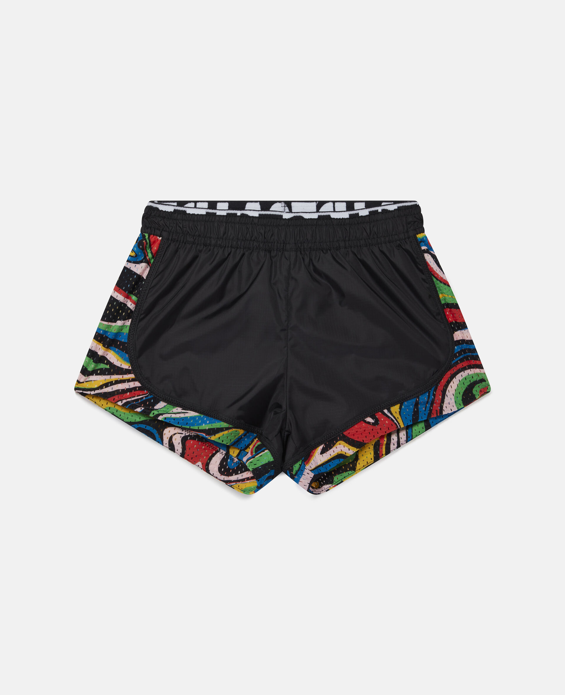 Marble Active Shorts -Black-large image number 0