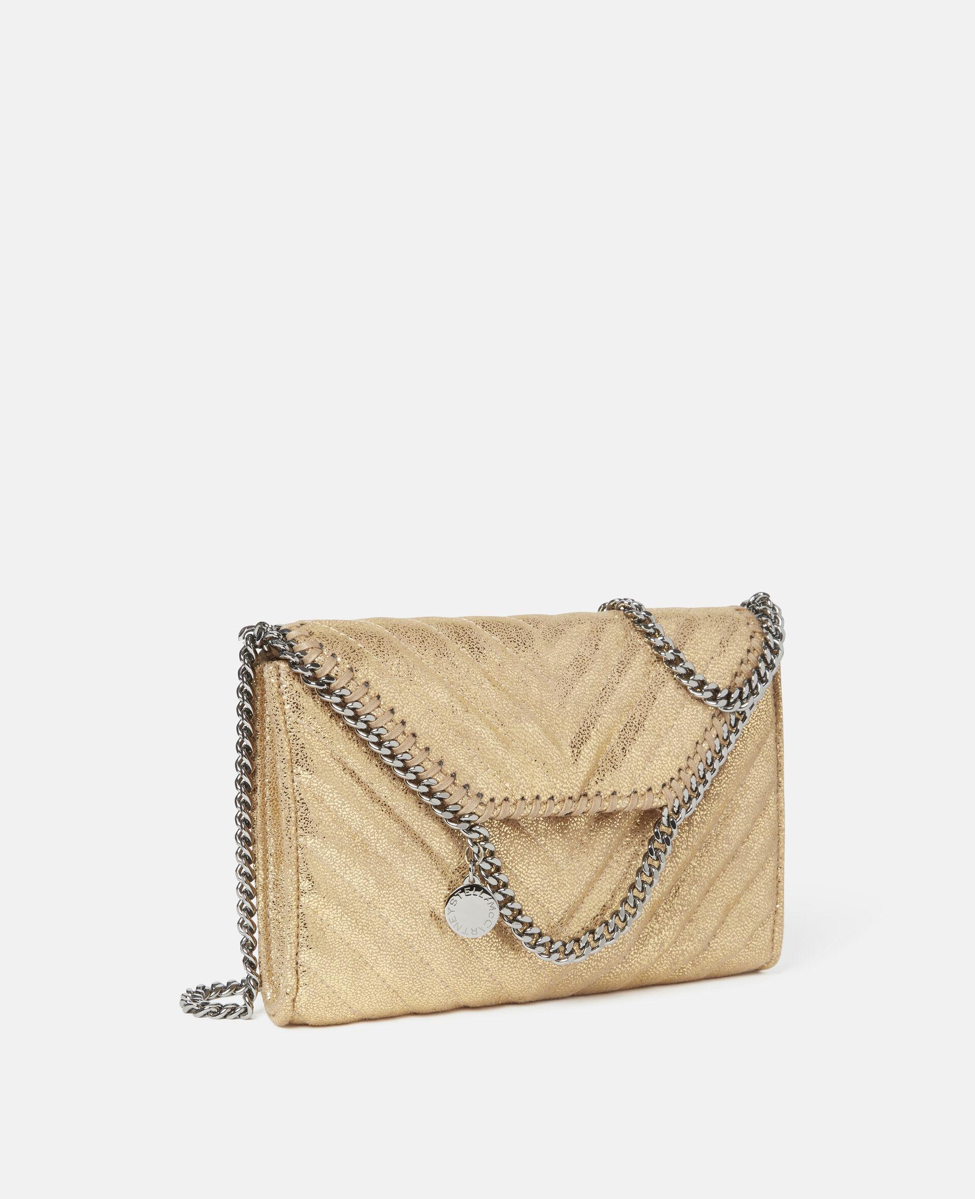 Falabella Mini Shoulder Bag-Yellow-large image number 1