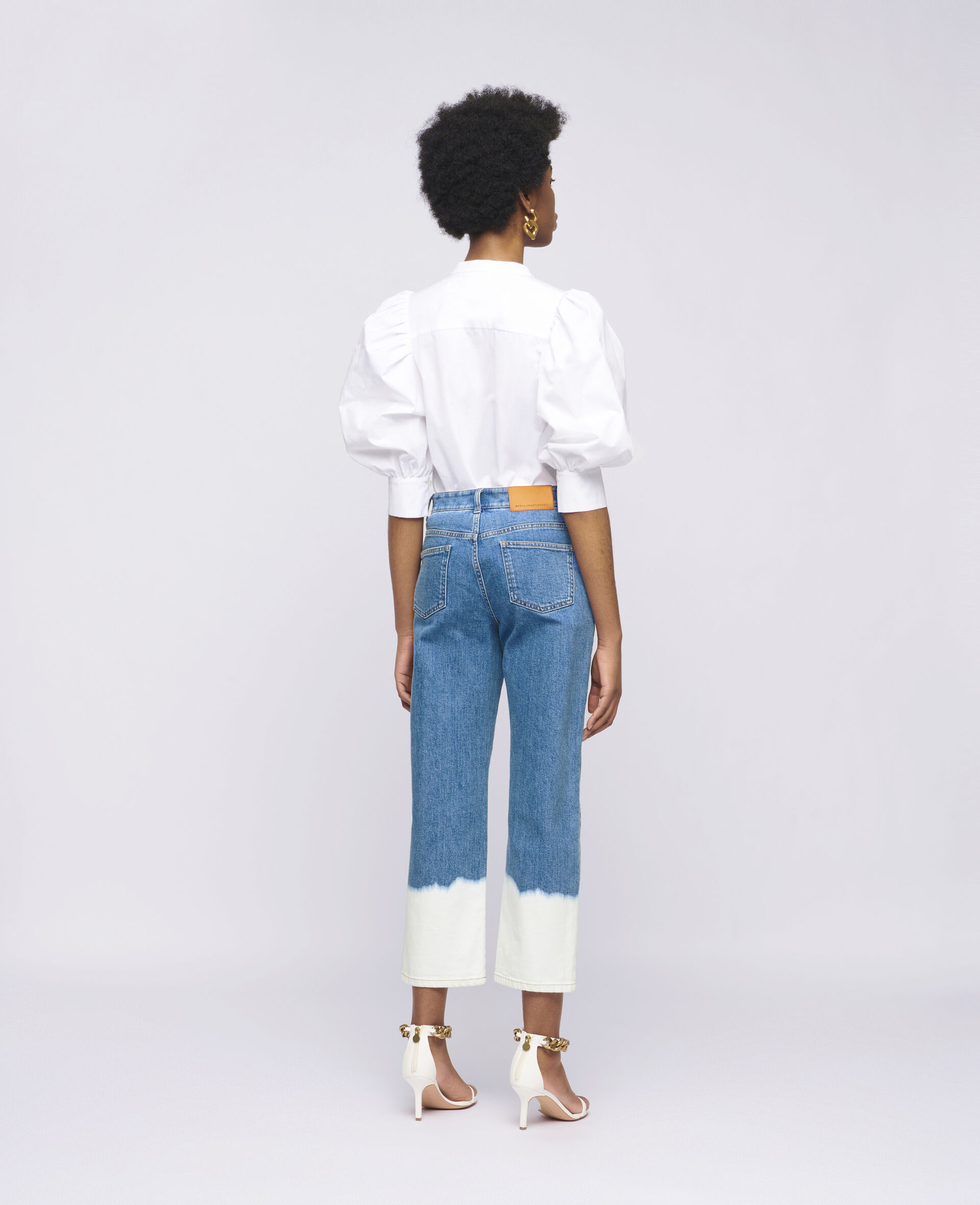 Rose Cotton Shirt-White-large image number 2