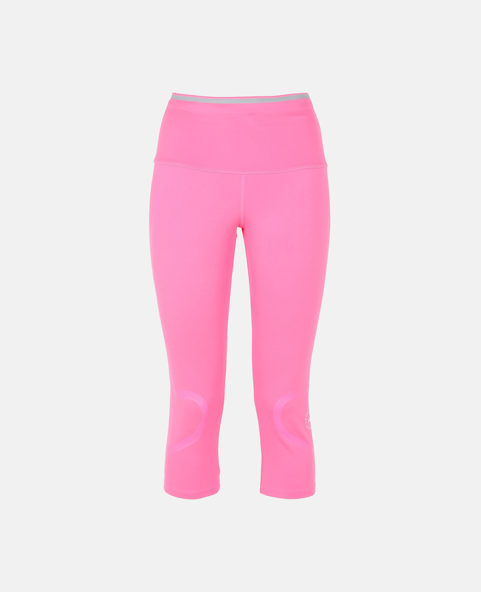 TruePace 3/4 Running Tights-Pink-large image number 0