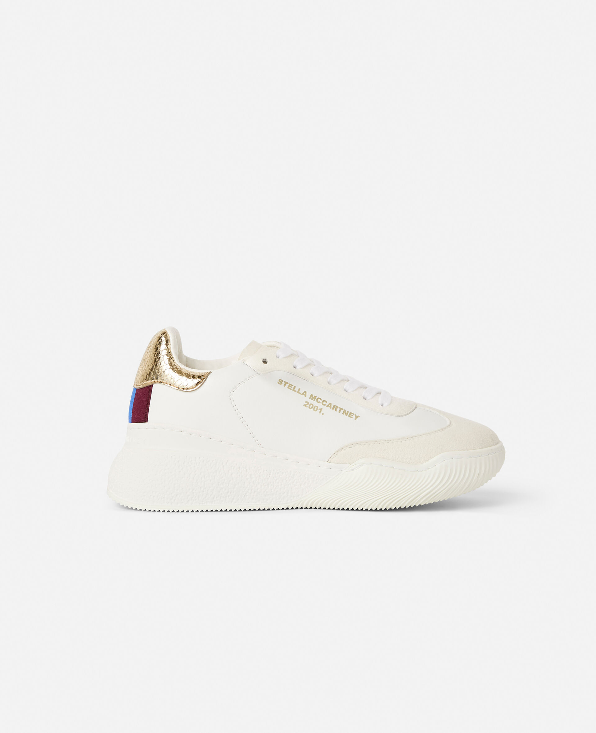 Loop Lace-up Sneakers-White-large image number 0