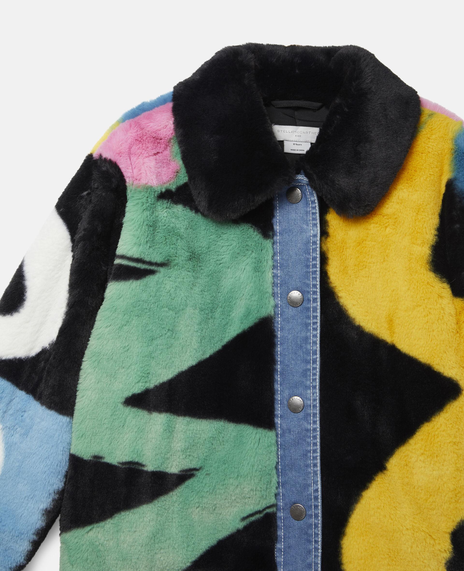 FFF & Denim Jacket -Multicolour-large image number 1
