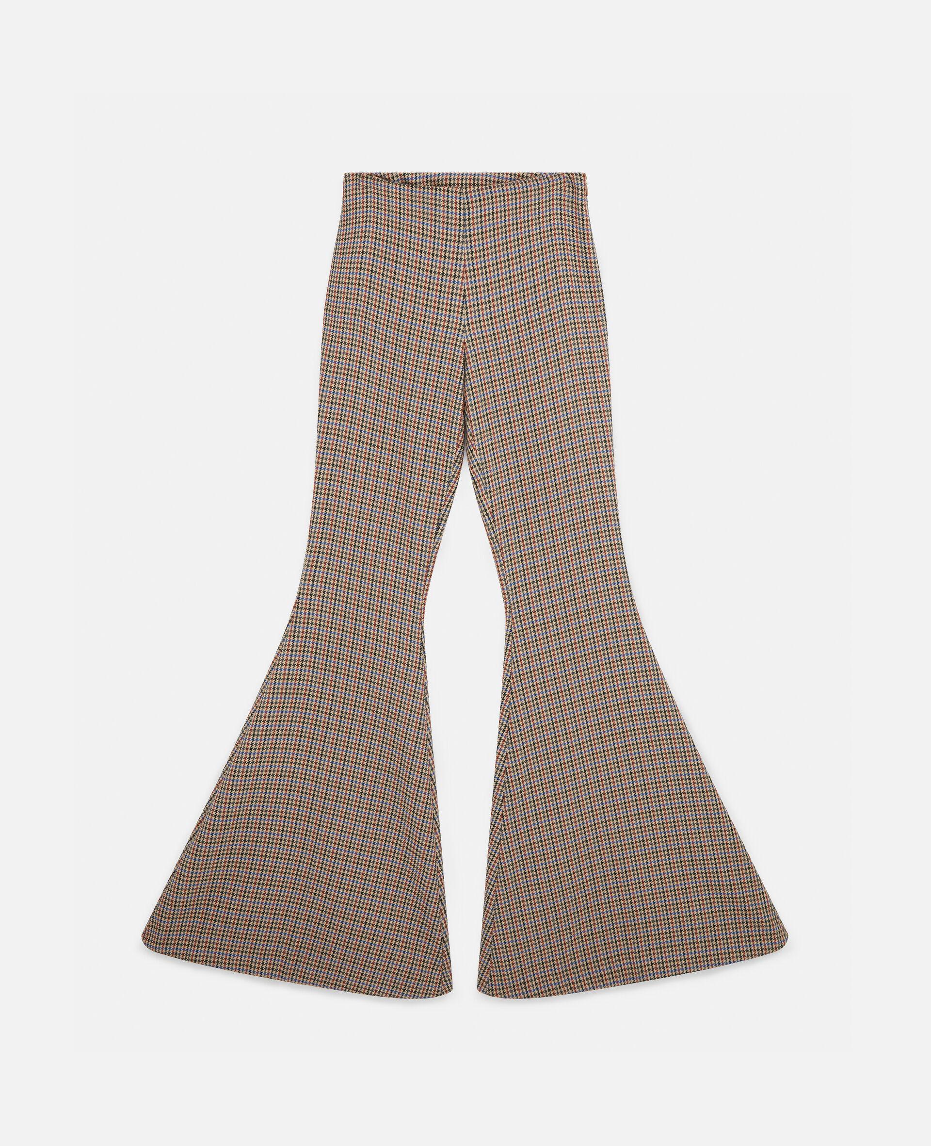 Pantalon évasé Mona-Beige-large image number 0
