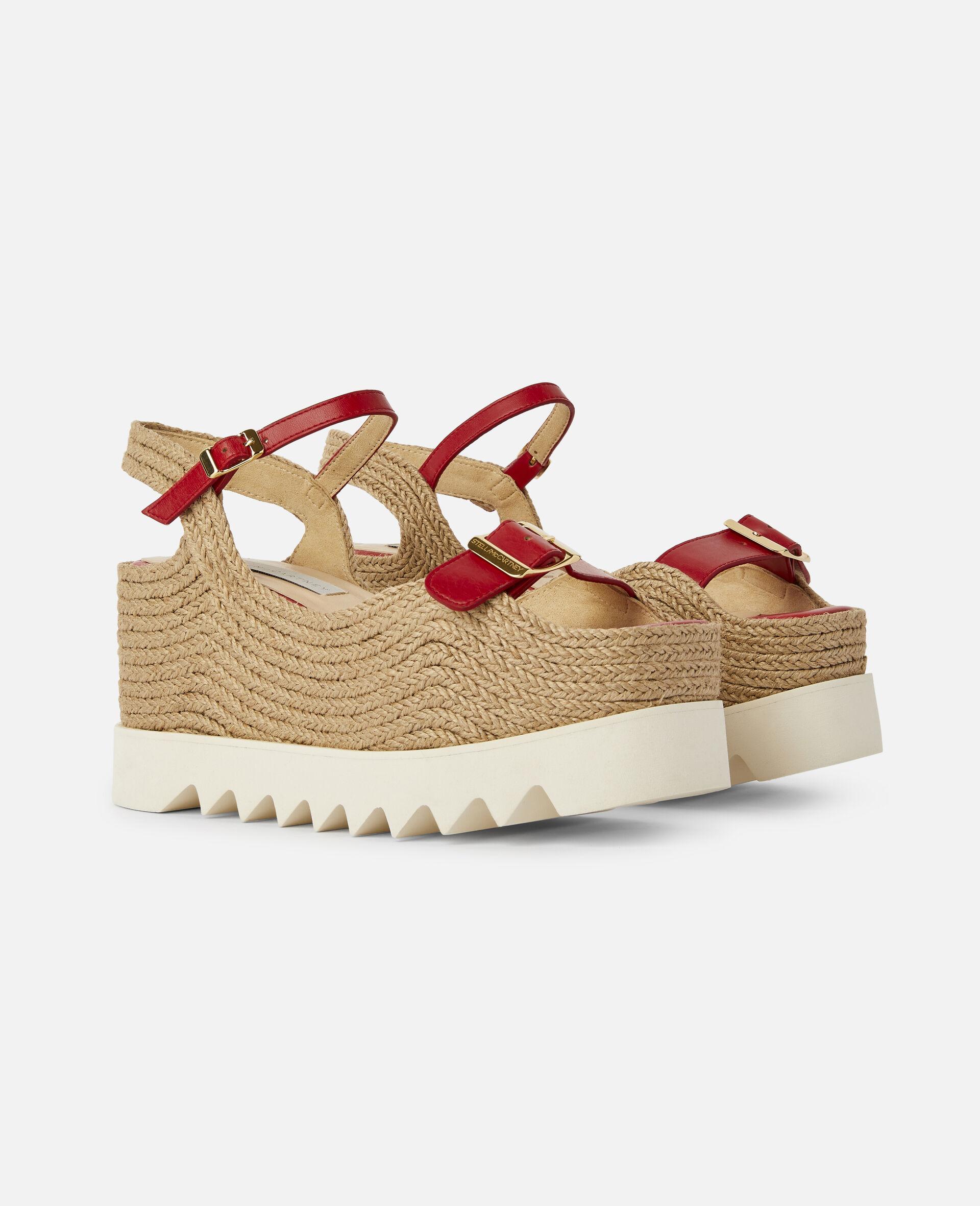 Elyse Platform Sandals -Red-large image number 1