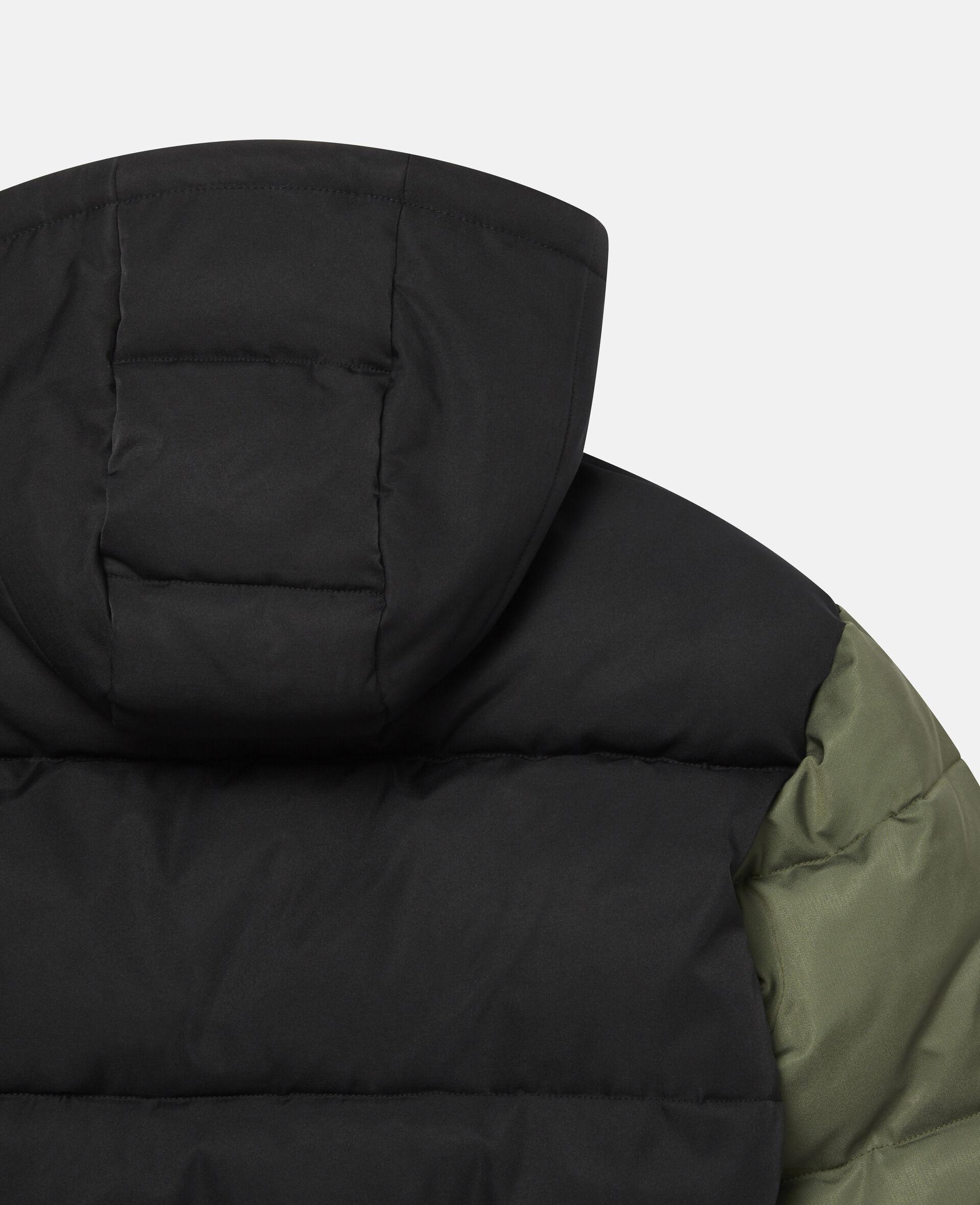 Oversized Puffer Jacket-Black-large image number 2