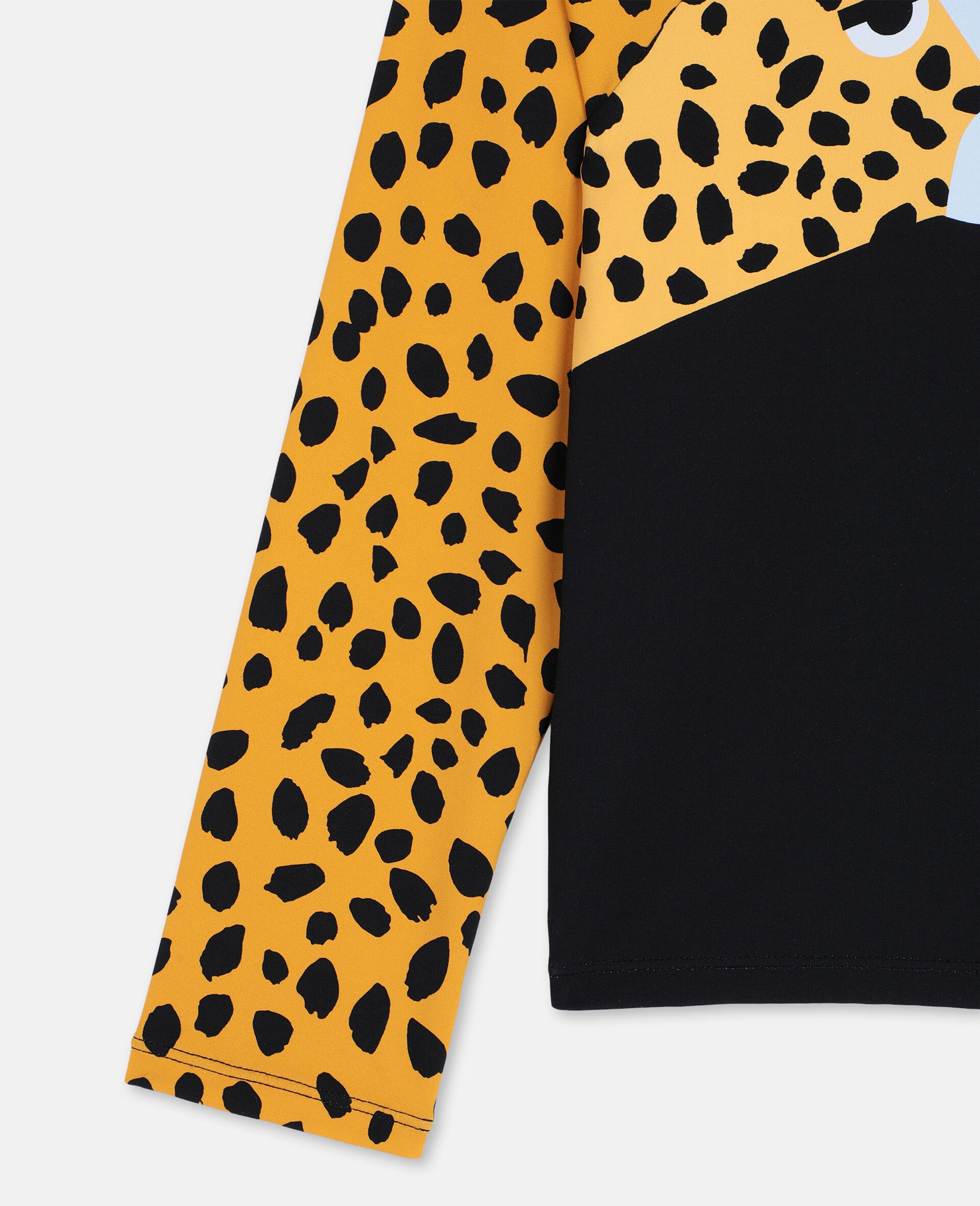 Cheetah Swim Set -Black-large image number 2