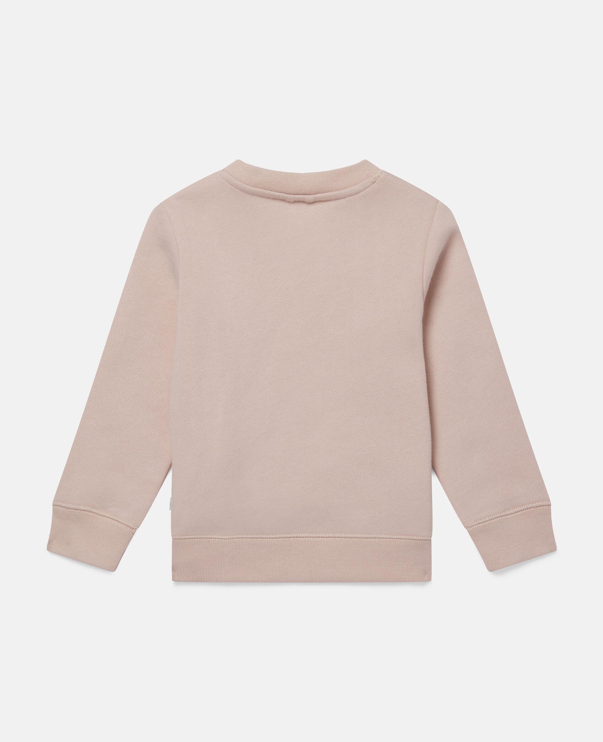 Sissy Dog Fleece Sweatshirt-Pink-large image number 3
